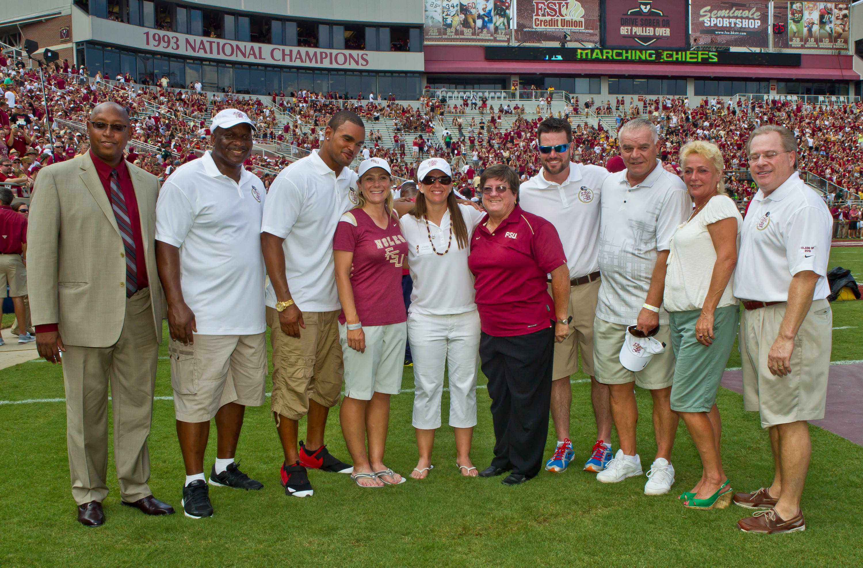 The 2013 FSU Hall of Fame Class