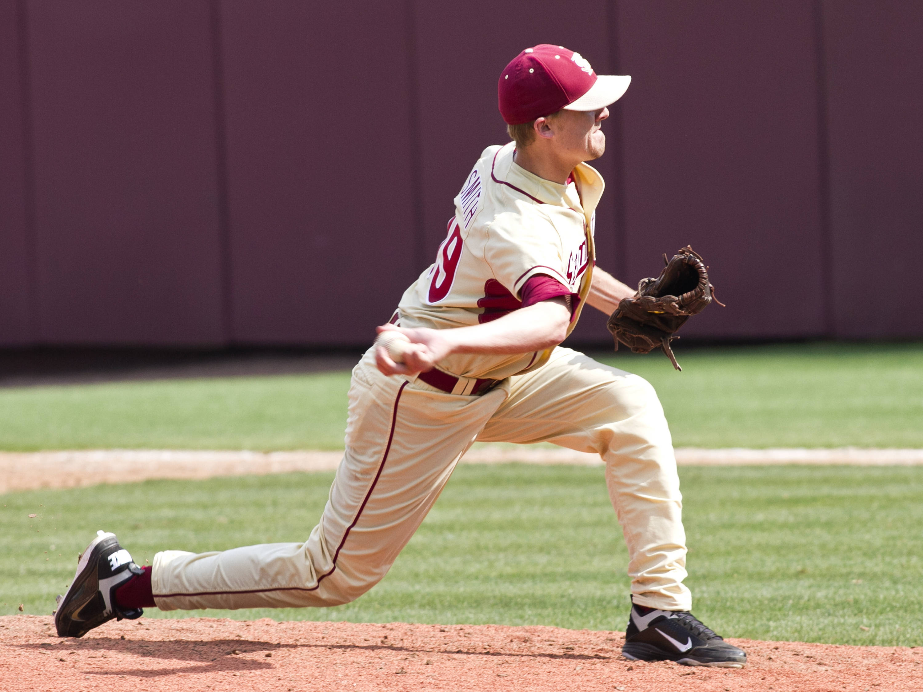 Gage Smith (19), FSU VS Virginia,  03/18/2012