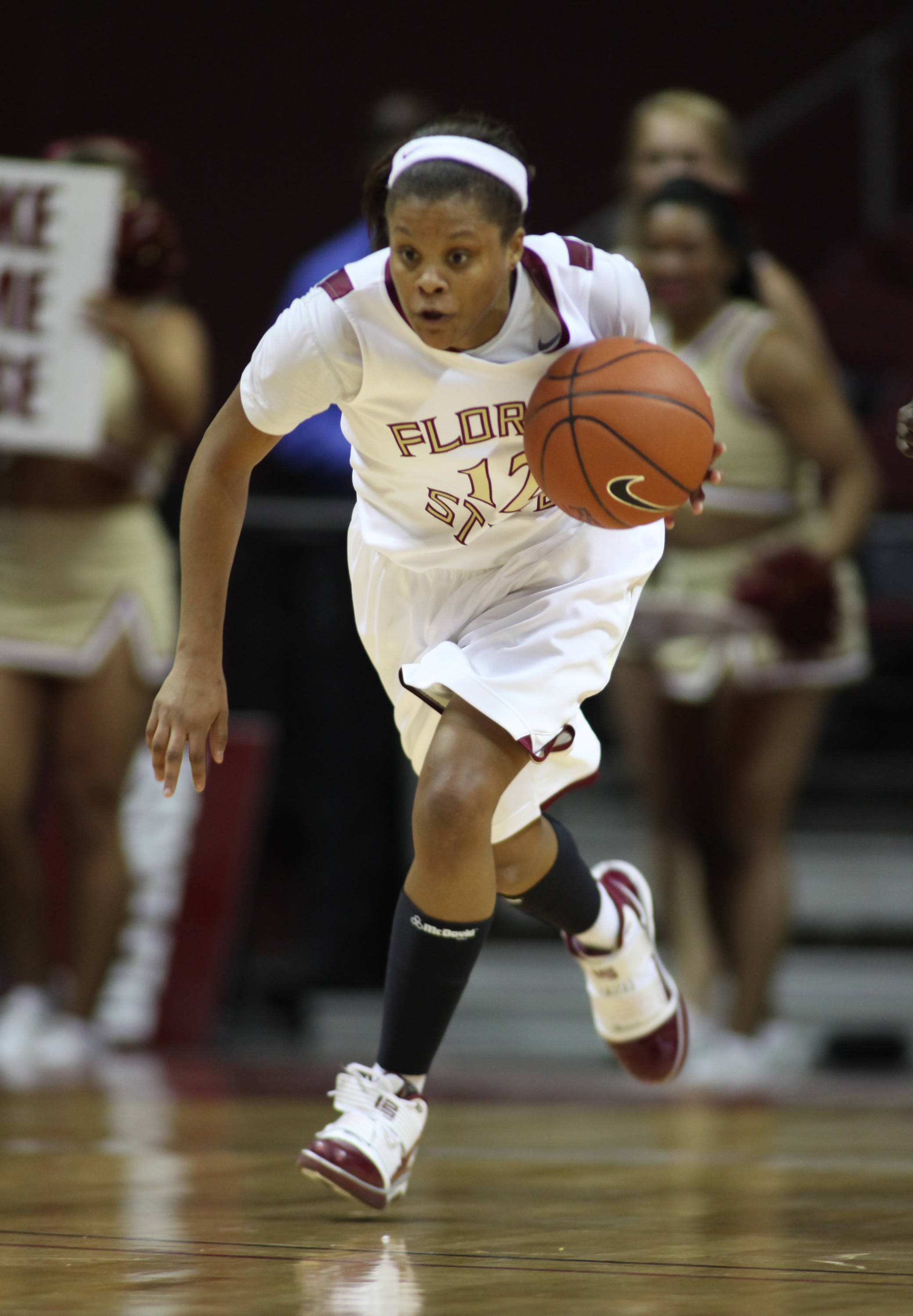 August 22 ... Courtney Ward has blossomed and grown as a player in each of her three years at FSU. Now, in her fourth and final season, the 'Noles' floor leader has become one of the top point guards in all of college basketball.