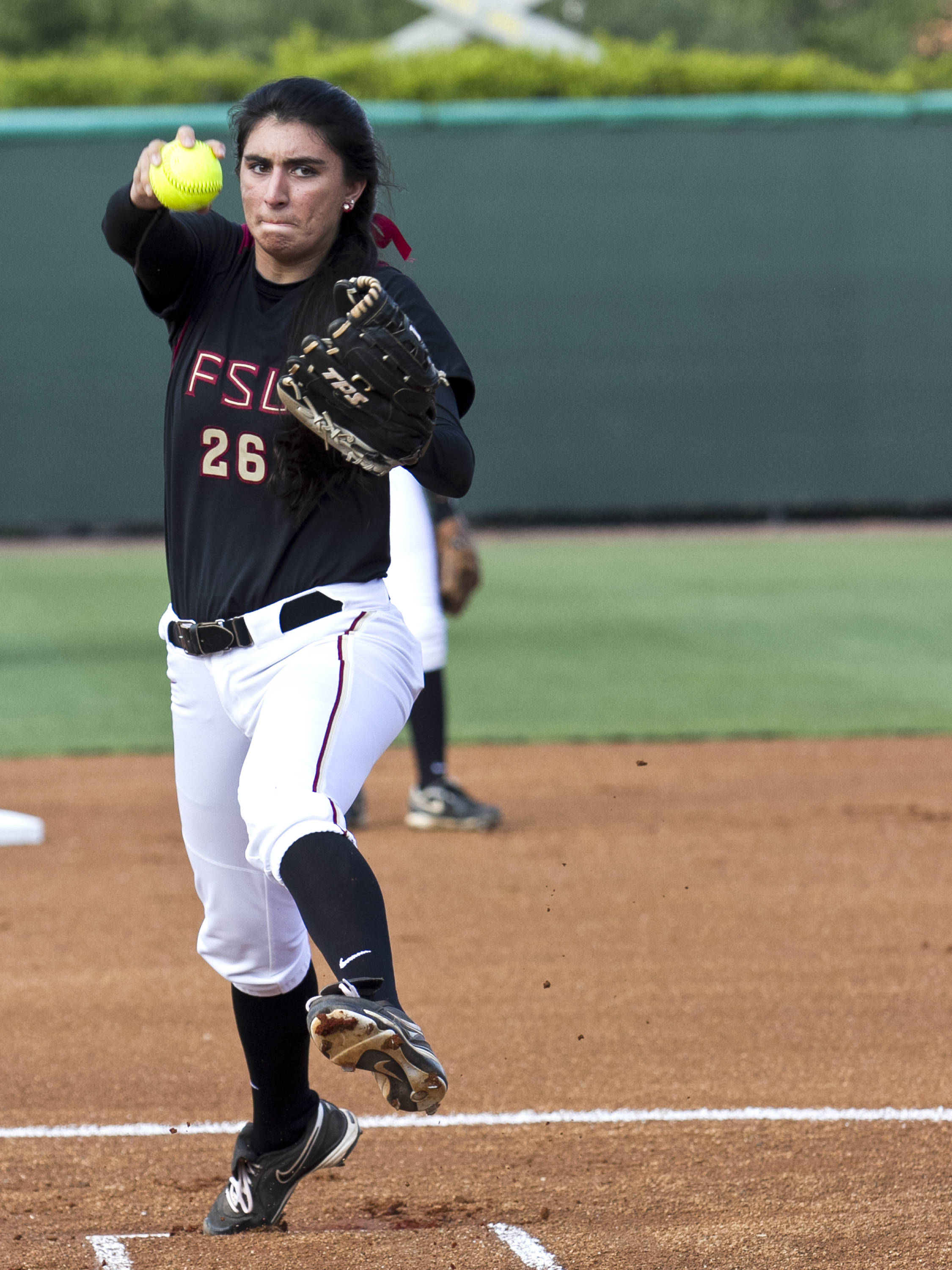 Jessica Nori, FSU Softball vs FAMU  04/10/2012
