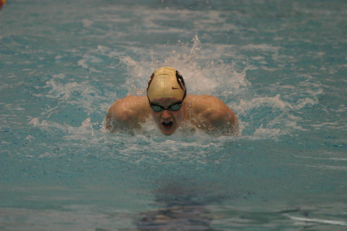 October 9, 2006: Junior Ian Powell led the way for the men's swimming and dving team in#$%^their win over Clemson 198-97 on Saturday.  Powell was on the winning#$%^200 medley relay and won three individual events including the 100 fly,#$%^200 fly and 200 back.