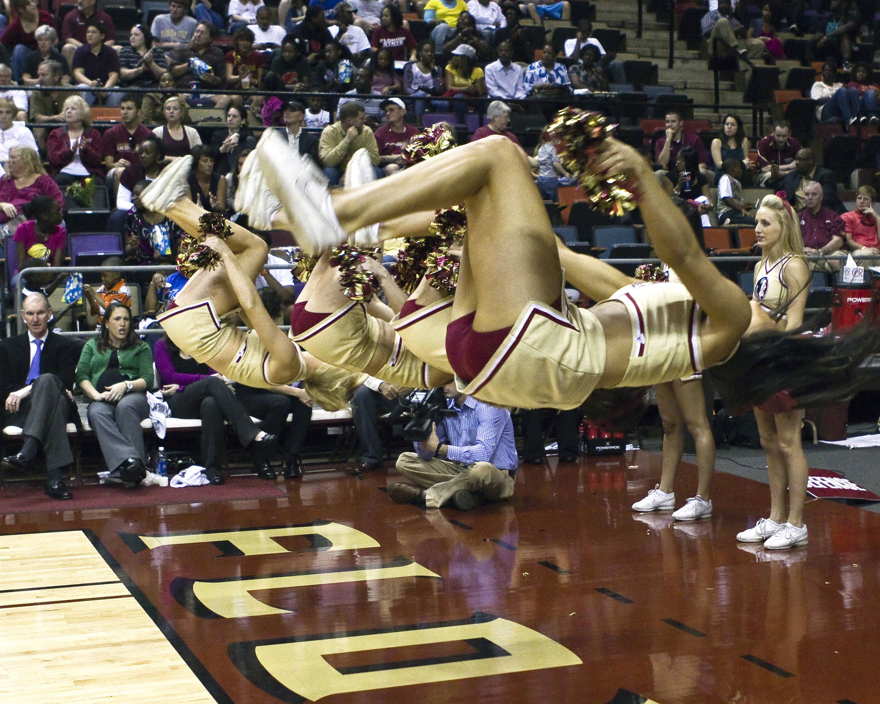 FSU vs Clemson- 02//27/11 - FSU Cheerleaders