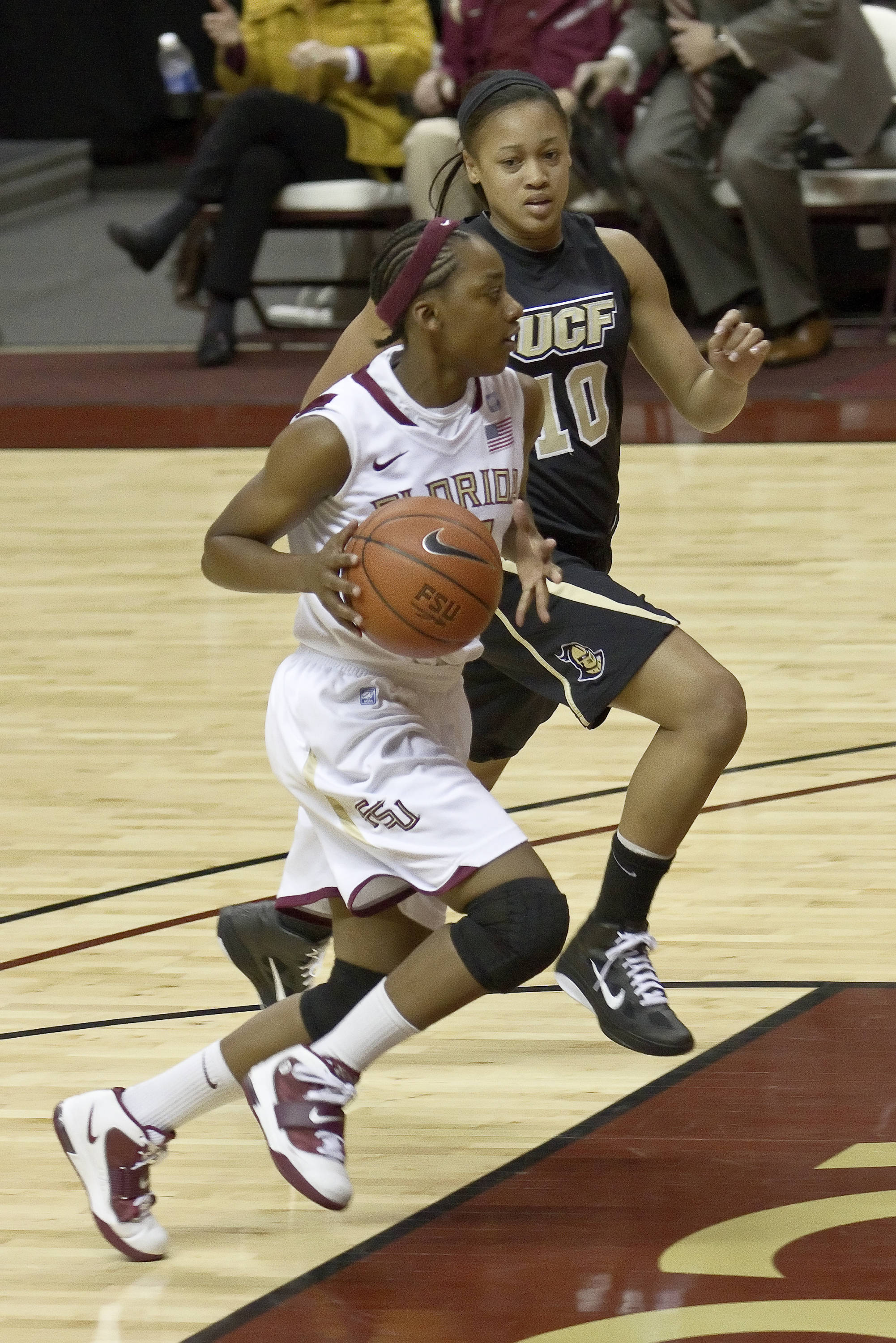 FSU vs UCF - 12/15/10 - Tay'ler Mingo (14)#$%^Photo by Steve Musco