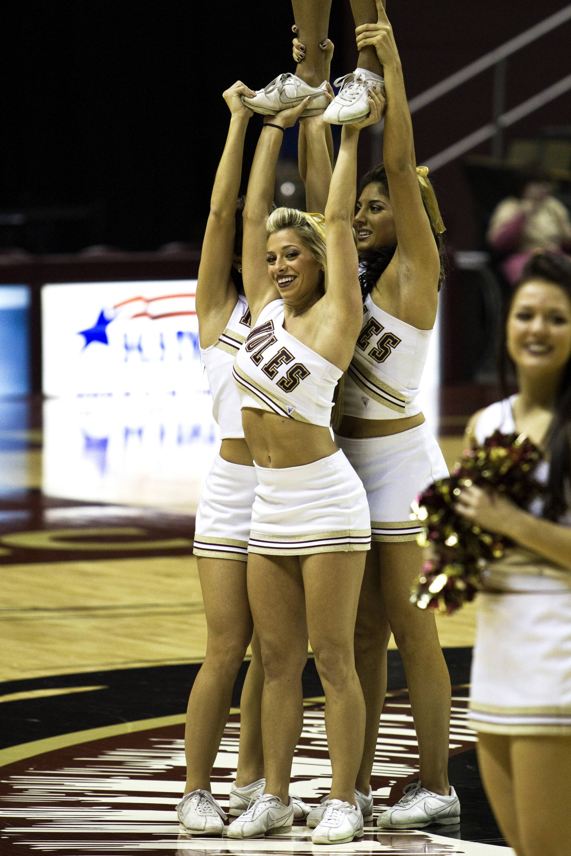 FSU vs Jacksonville State - 12/12/10 - FSU Cheerleaders#$%^Photo by Steve Musco