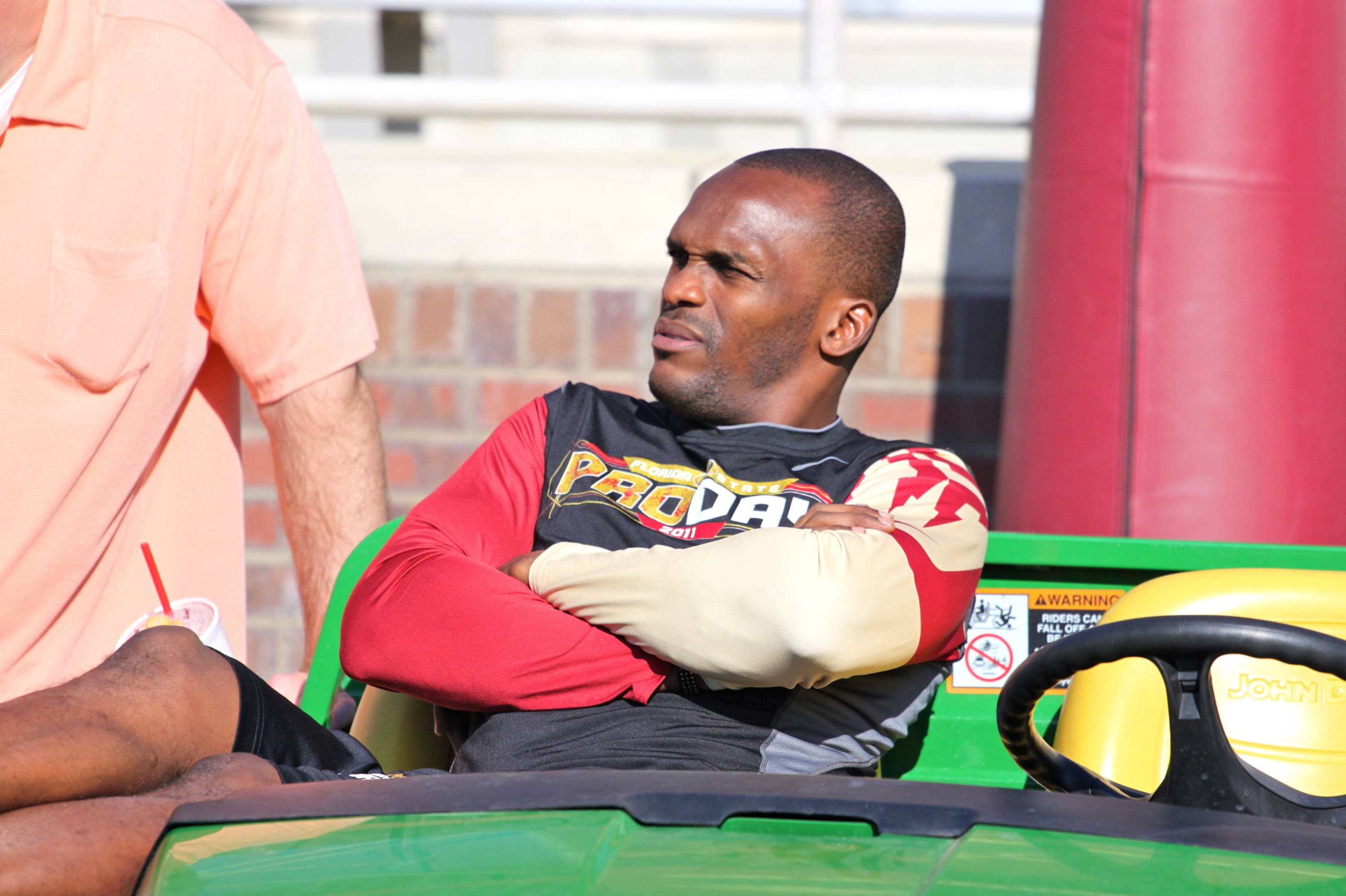 Former St. Louis Rams wide receiver Isaac Bruce