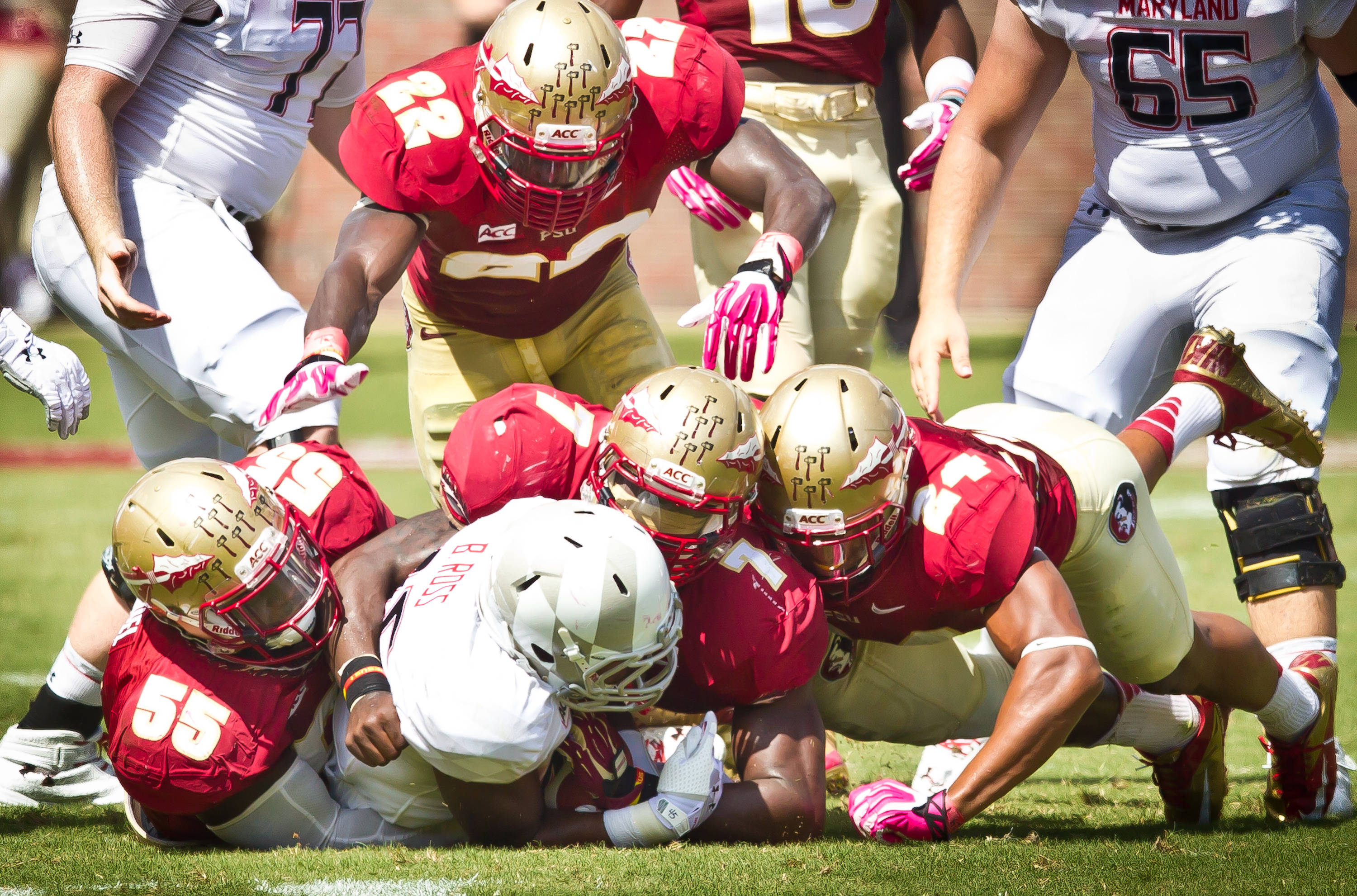 The FSU defense turned in a dominating performance.