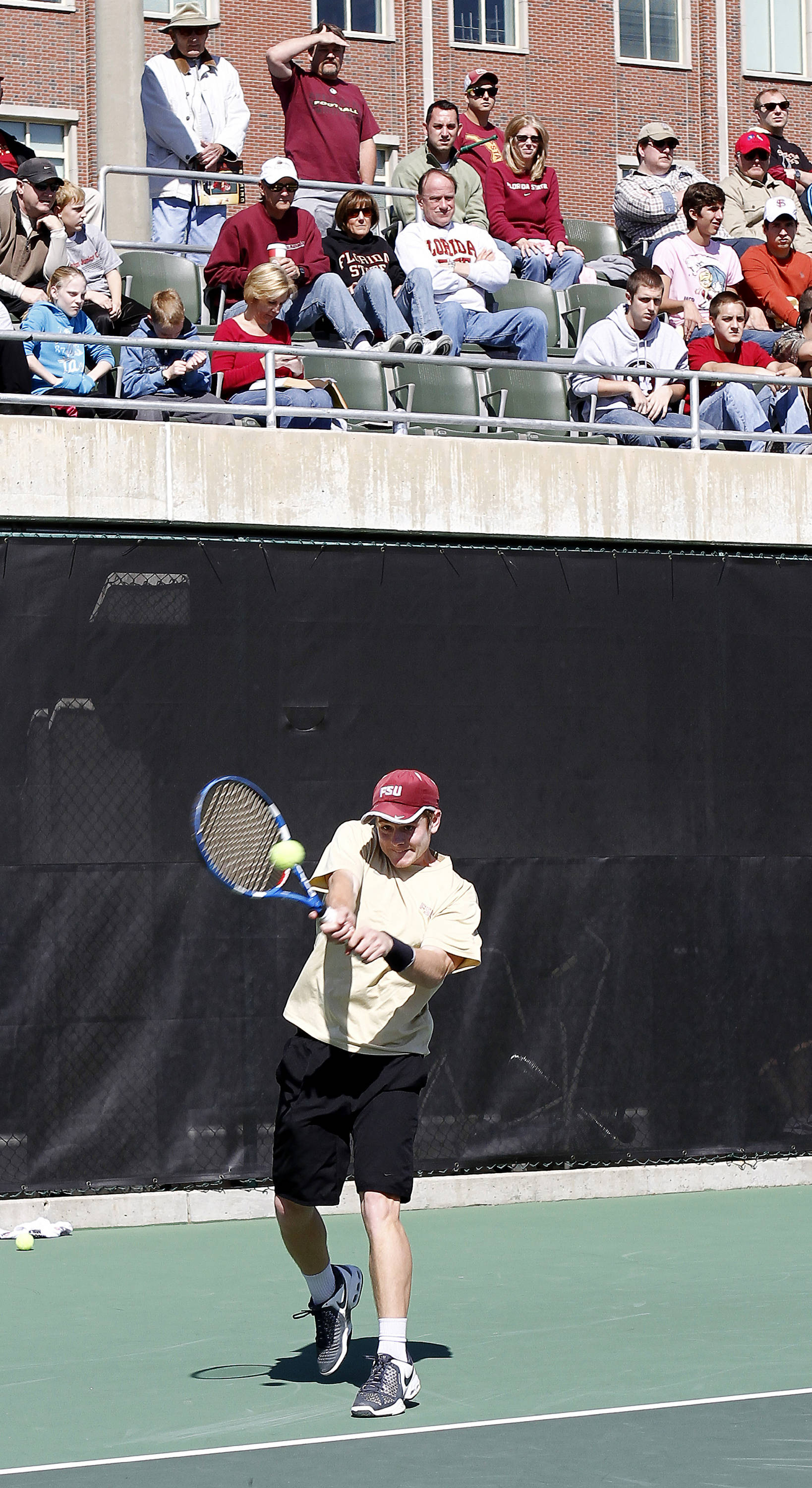 FSU vs Florida- 02//06/11 - Clint Bowles
