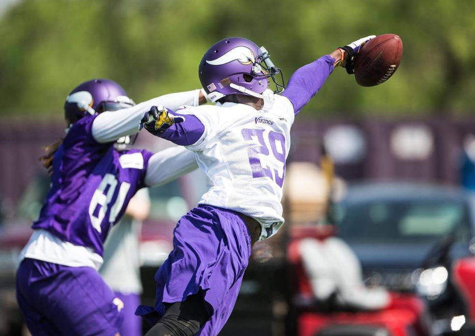 Xavier Rhodes, courtesy of Vikings.com
