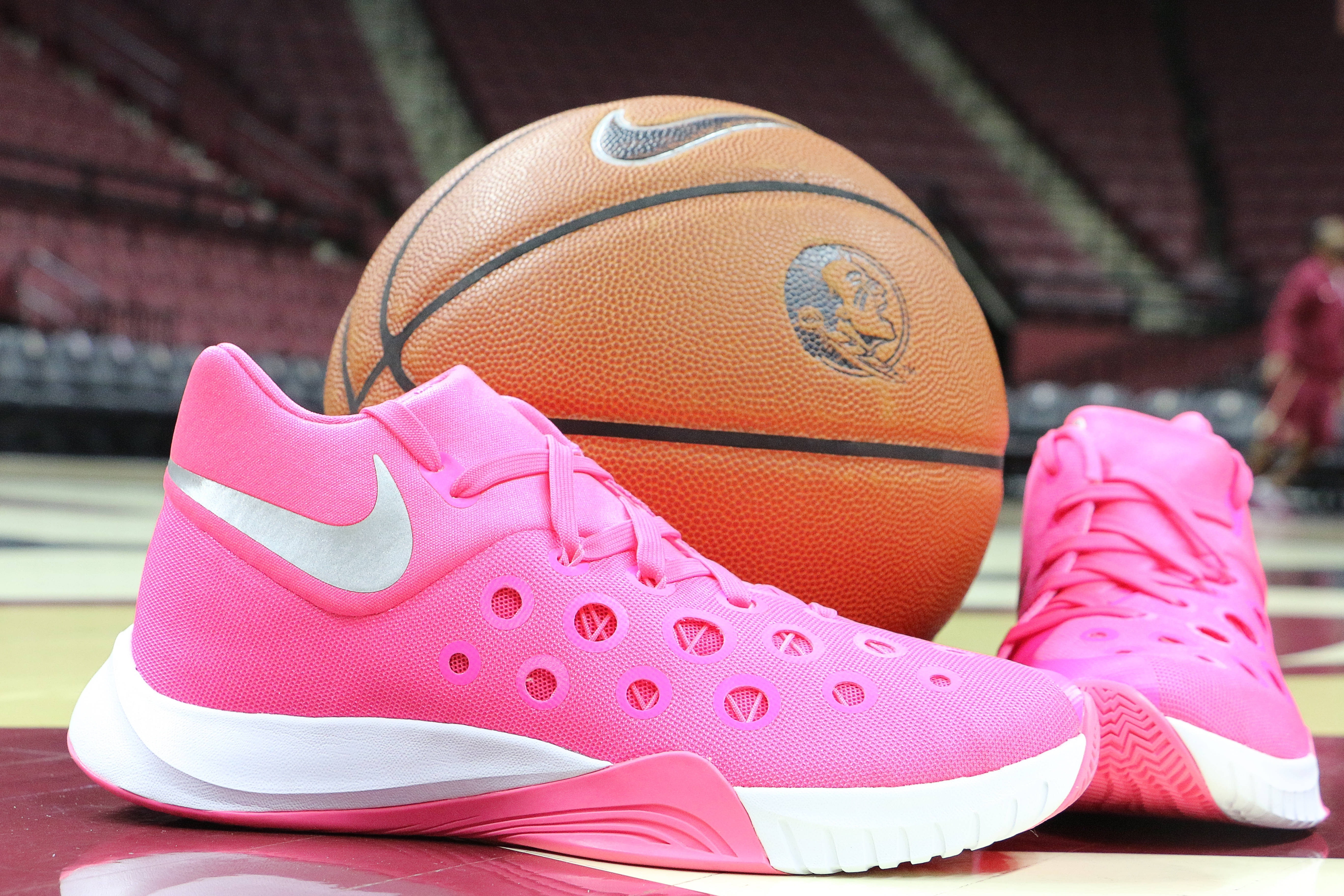 Women's Basketball Paint It Pink Jerseys