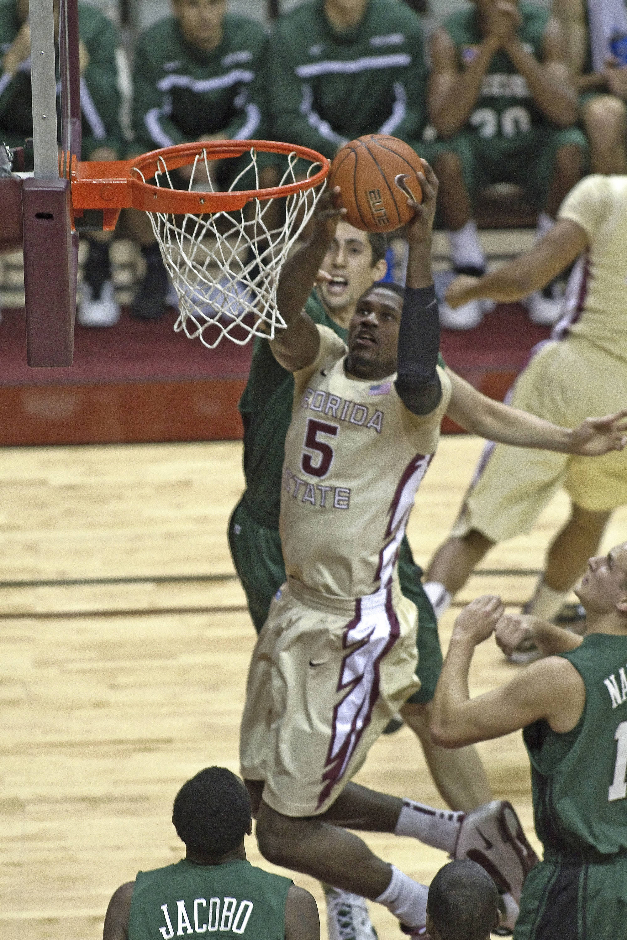 FSU vs Stetson - 12/15/2010 - Bernard James (5)