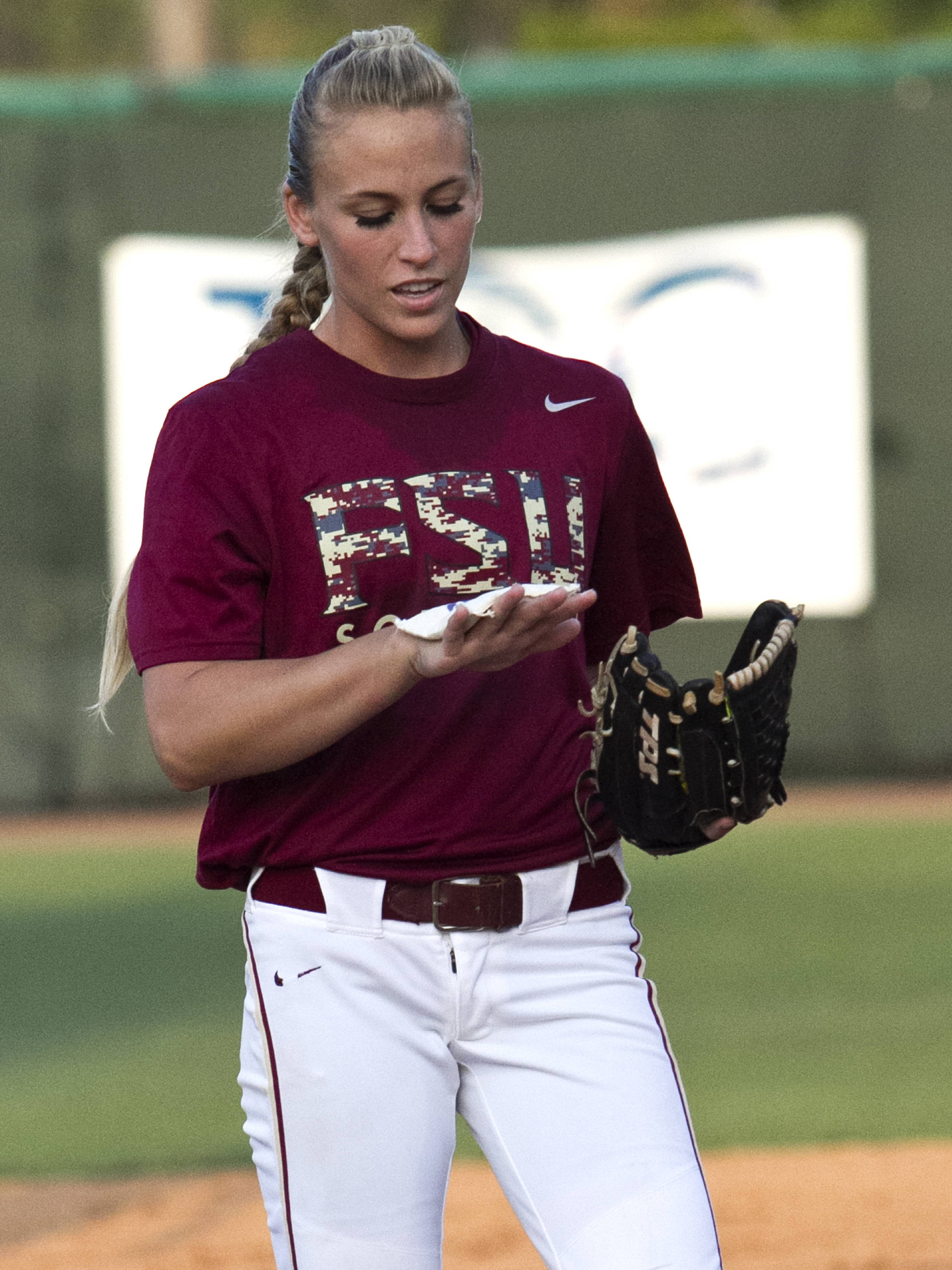 Monica Perry, FSU Softball vs NC,  04/02/2012