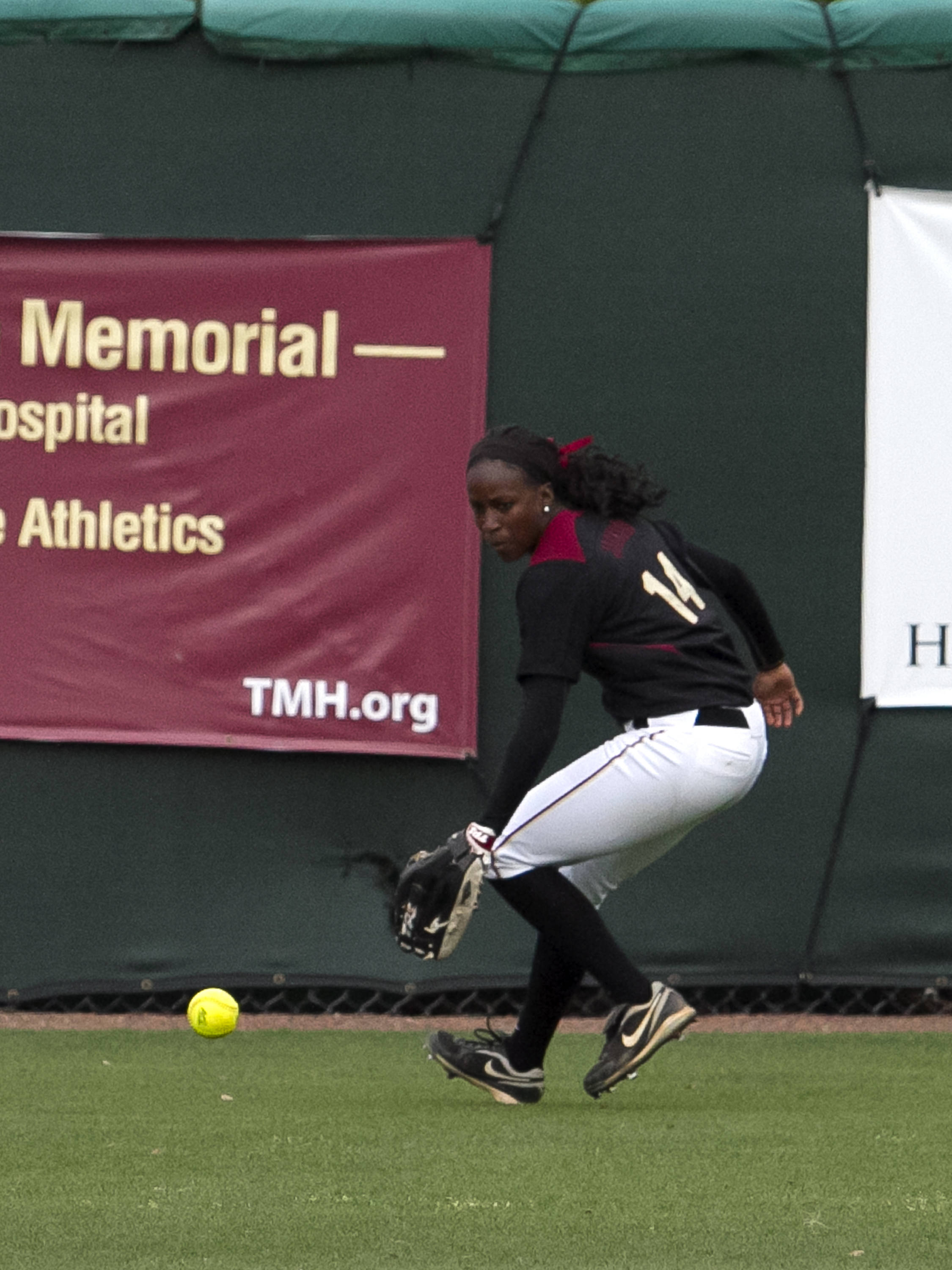 Shayla Jackson, FSU Softball vs FLA  04/02/2012
