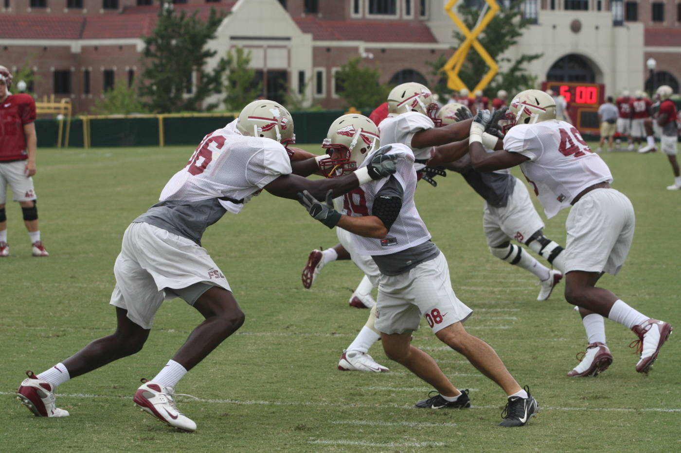 Wednesday, August 26th football practice#$%^Courtesy:  Seminoles.com