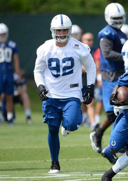 Bjoern Werner, courtesy of Colts.com