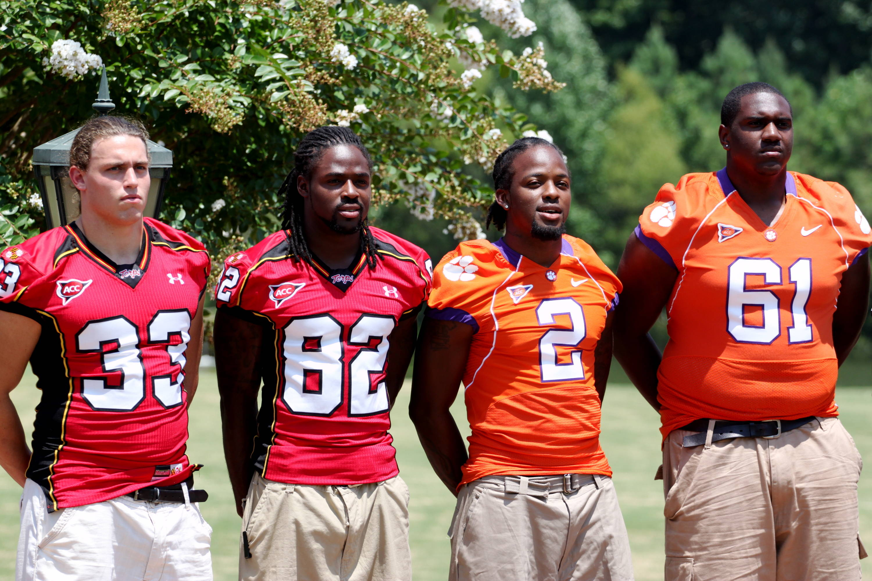 Group shots from the ACC Football Kickoff.