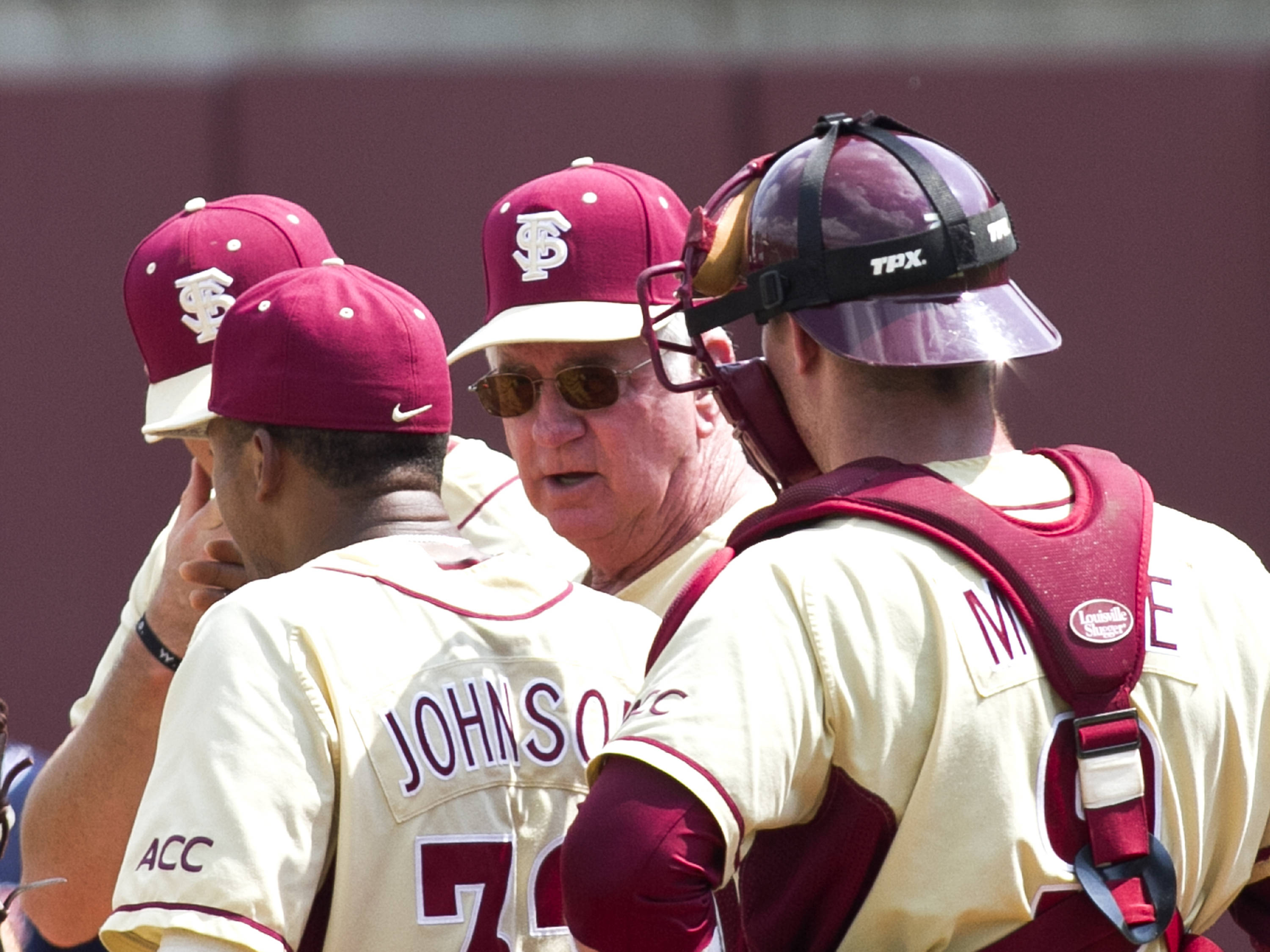 Head Coach Mike Martin, FSU VS Virginia,  03/18/2012