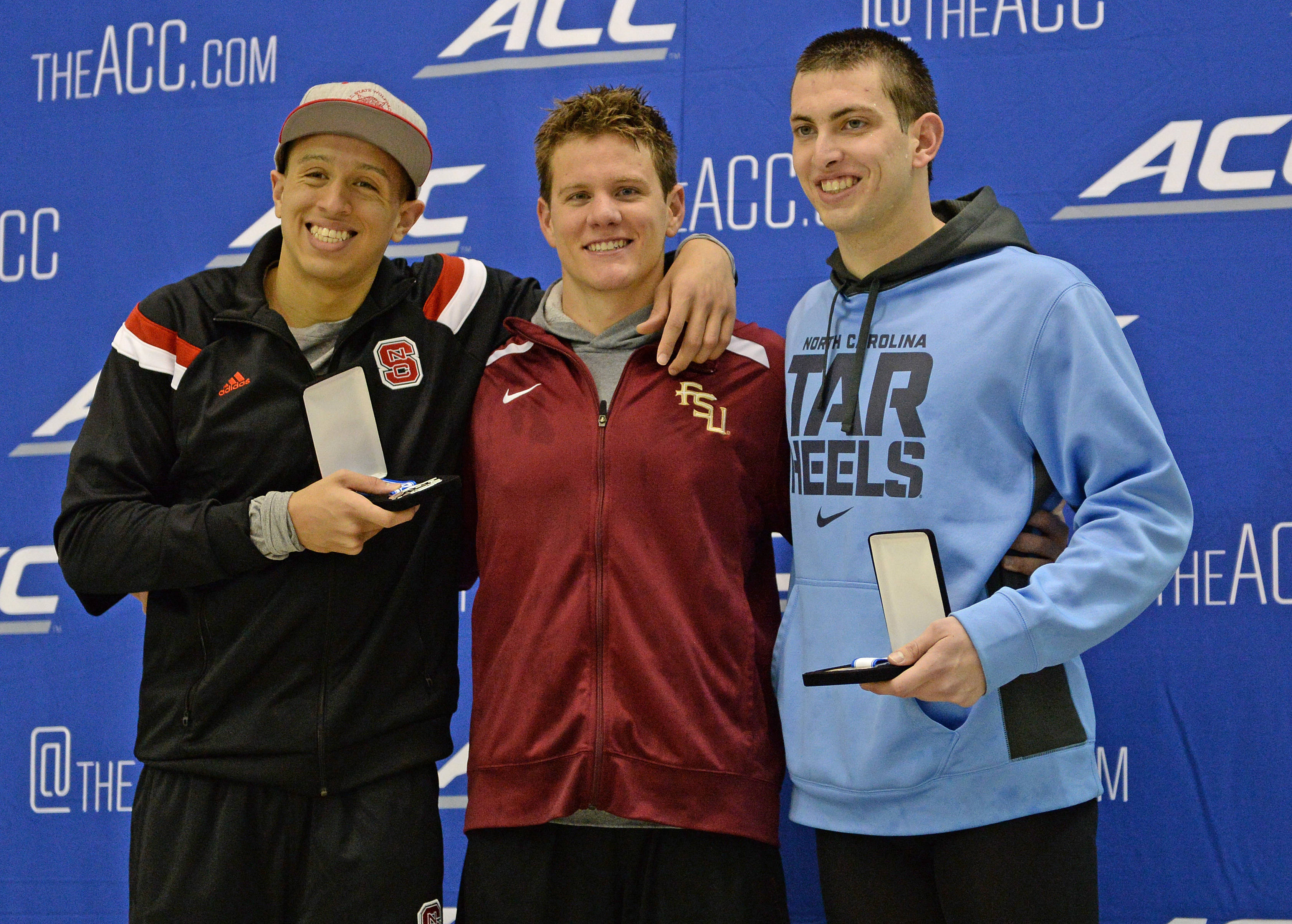 The 200 fly medalists - Mitch White