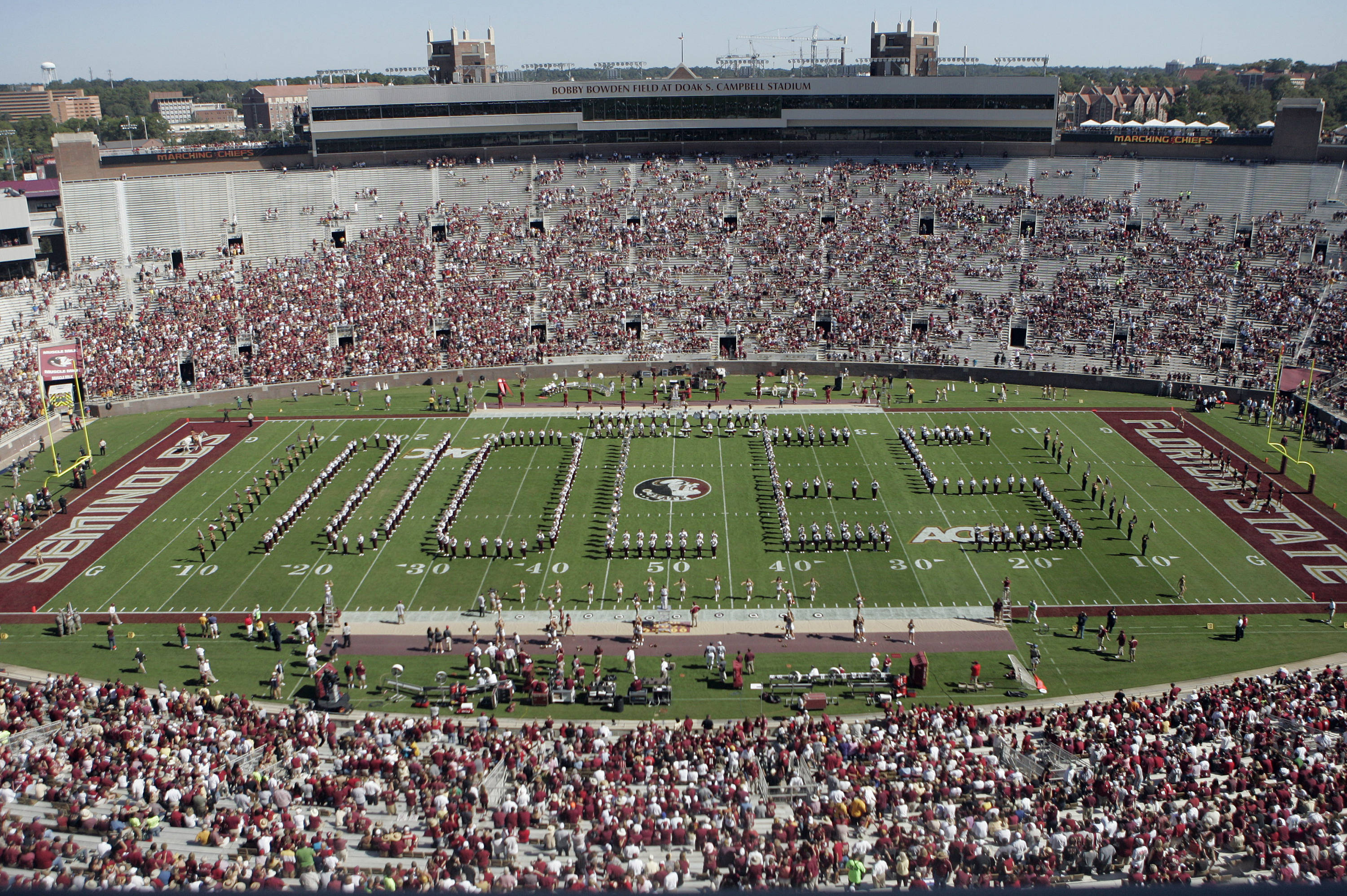 Florida State's band spells