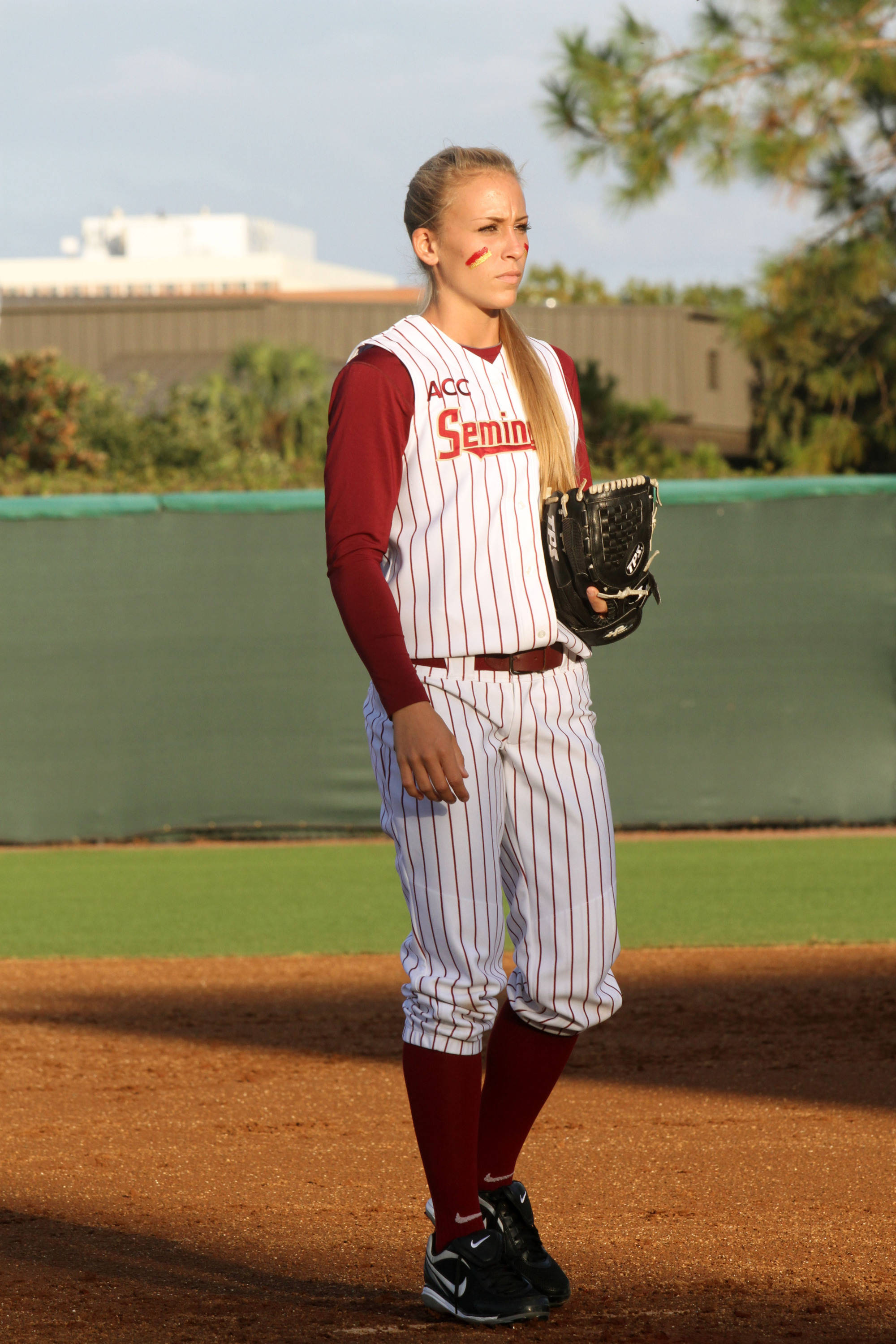 2012 FSU Softball Team Monica Perry (55)