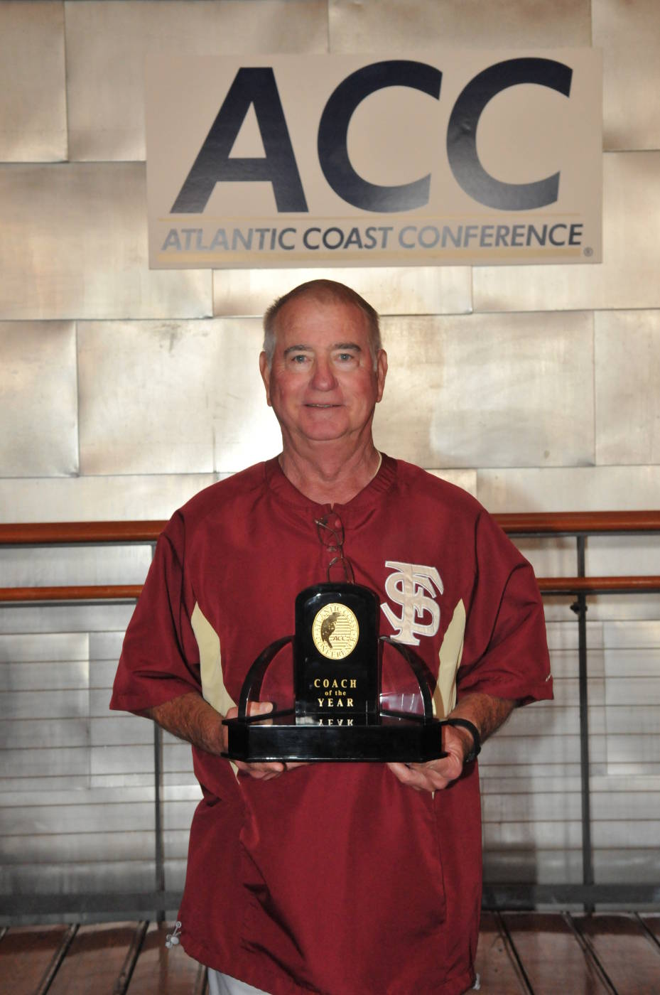 Head coach Mike Martin received ACC Coach of the Year honors