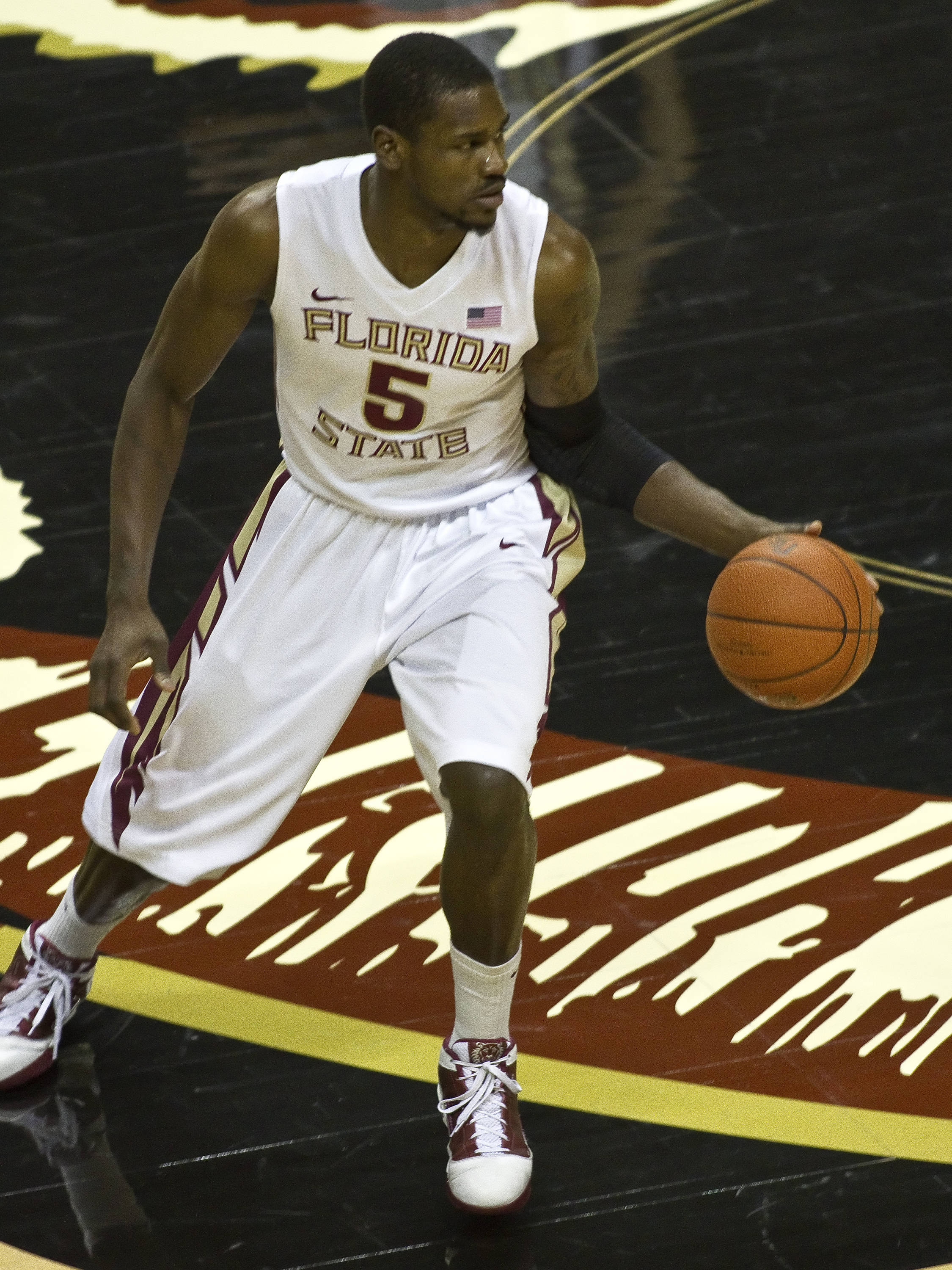 Bernard James (5), FSU vs Loyola-Mary., 12/18/2011