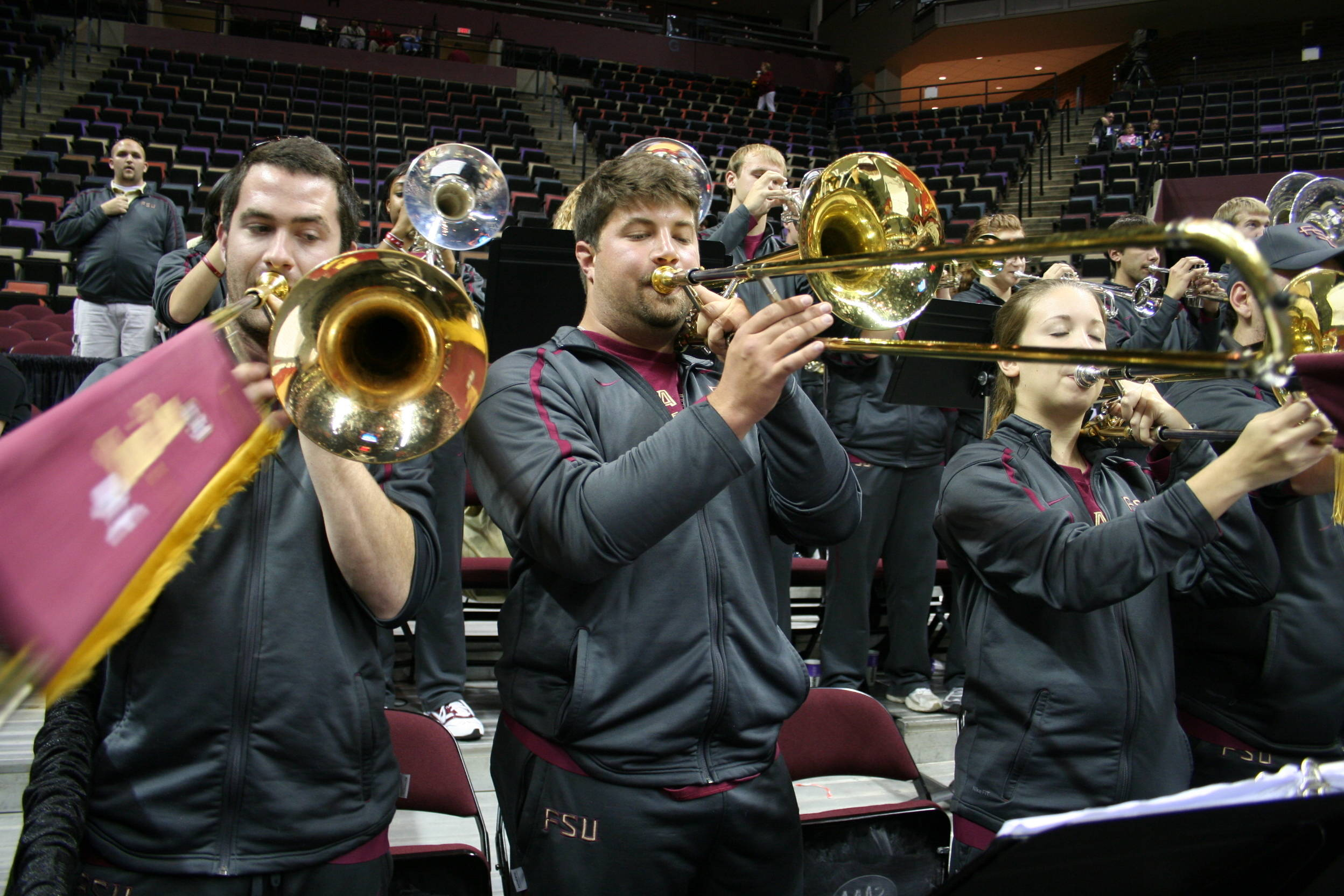 August 30 ... Seminole Sound is always ready and raring to go when it comes to pumping up the home crowd and filling the Donald L. Tucker Center with the sounds of the top college band in the country.