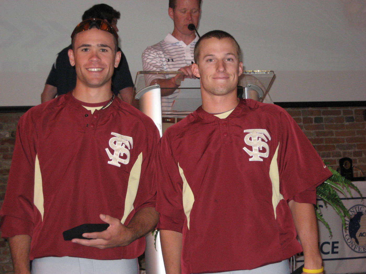 First Team All-ACC (L to R): Sean Gilmartin and Tyler Holt