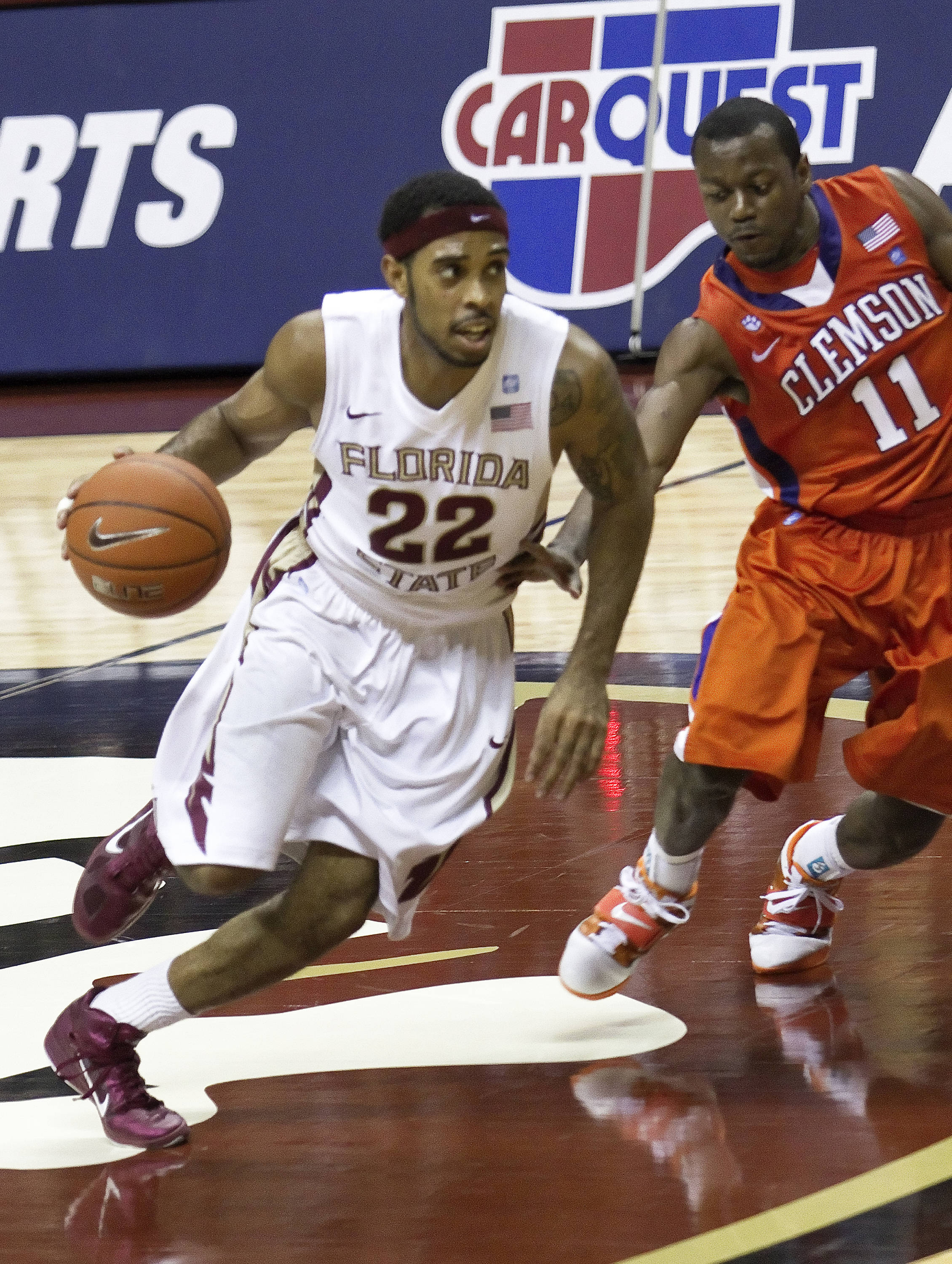 FSU vs Clemson - 12/12/2010 - Derwin Kitchen (22)