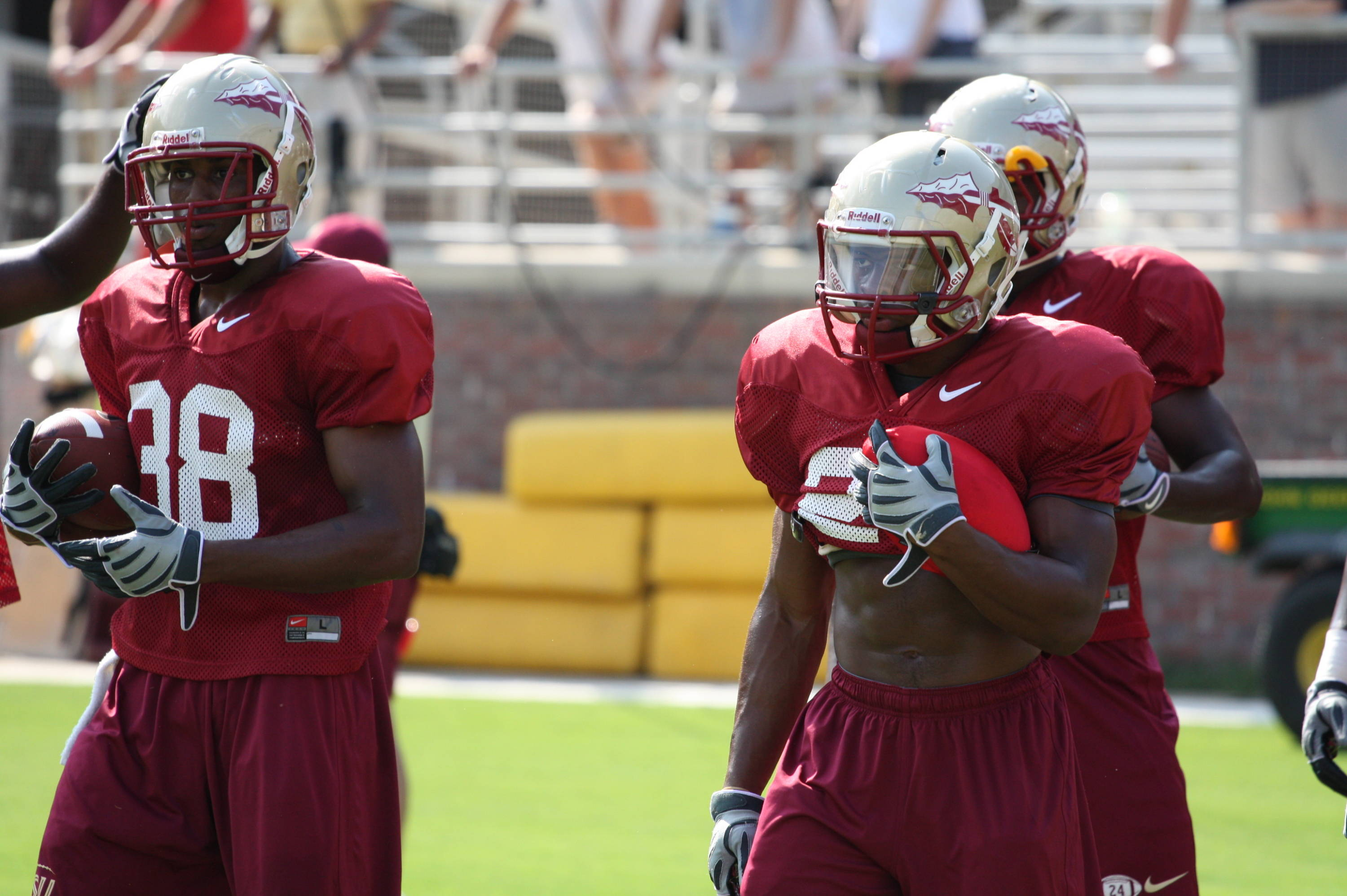 Jermaine Thomas and Chris Thompson