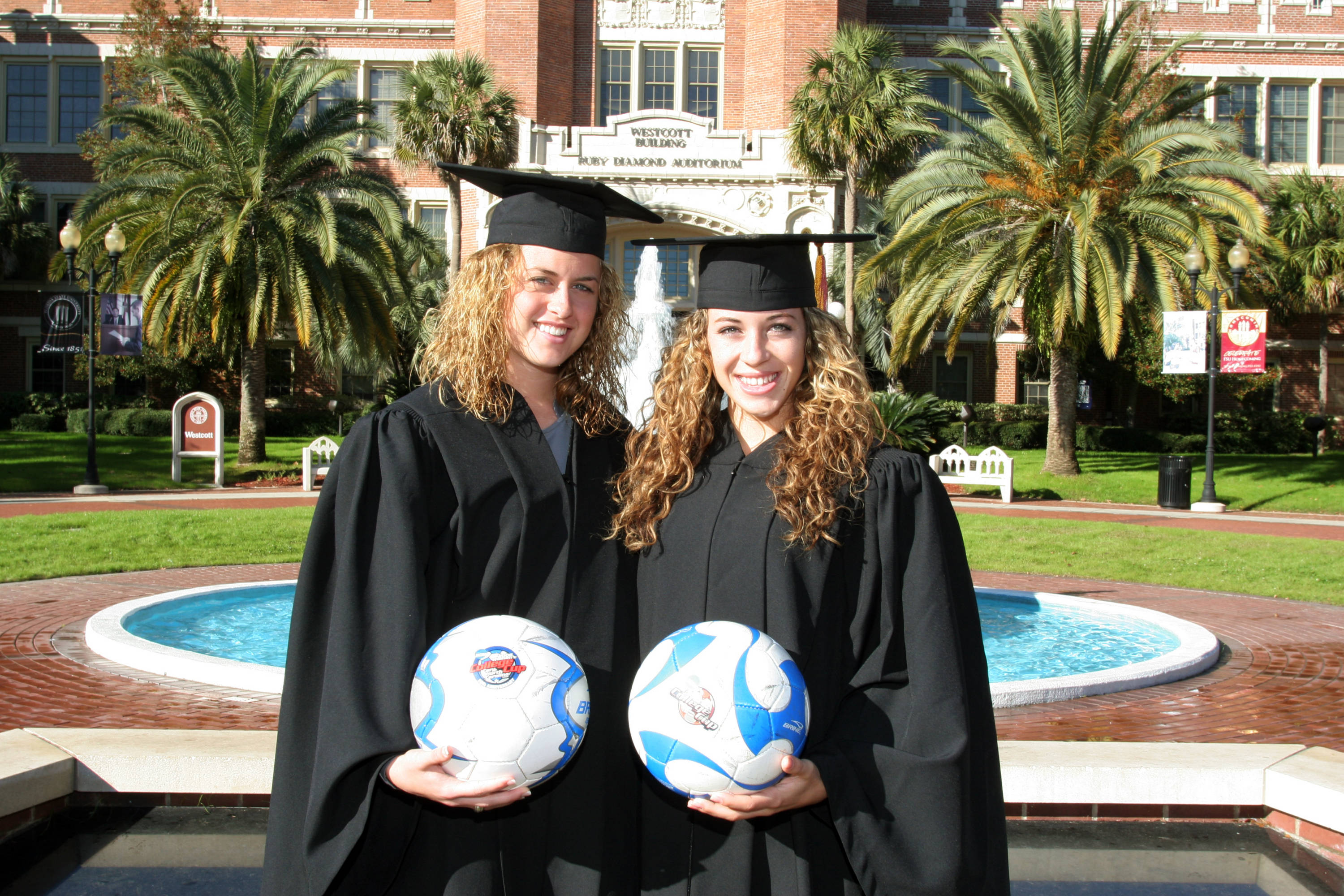 2008 season- Kate Milstead and Erika Sutton.