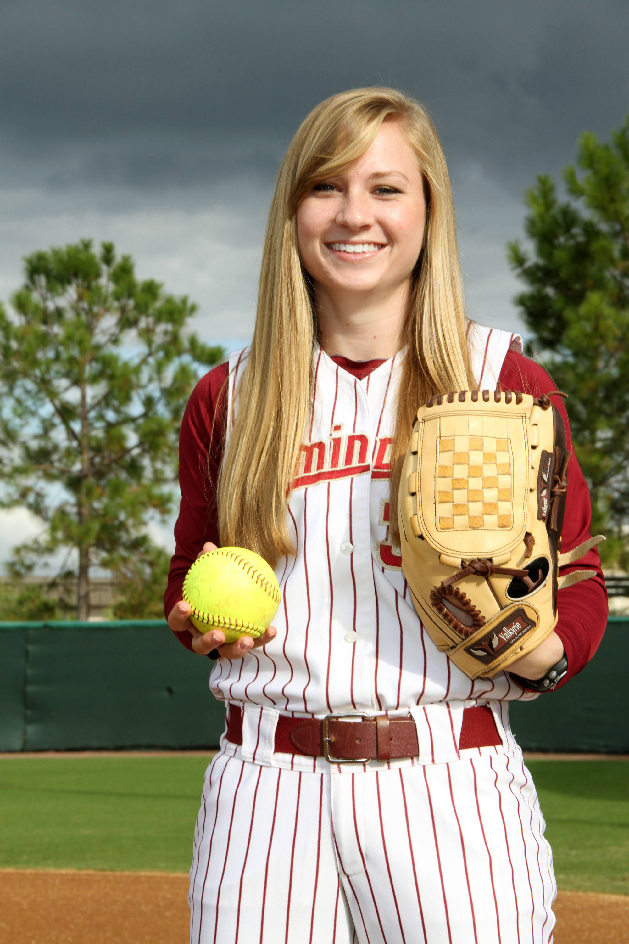 2012 FSU Softball Team Kirstin Austin (33)
