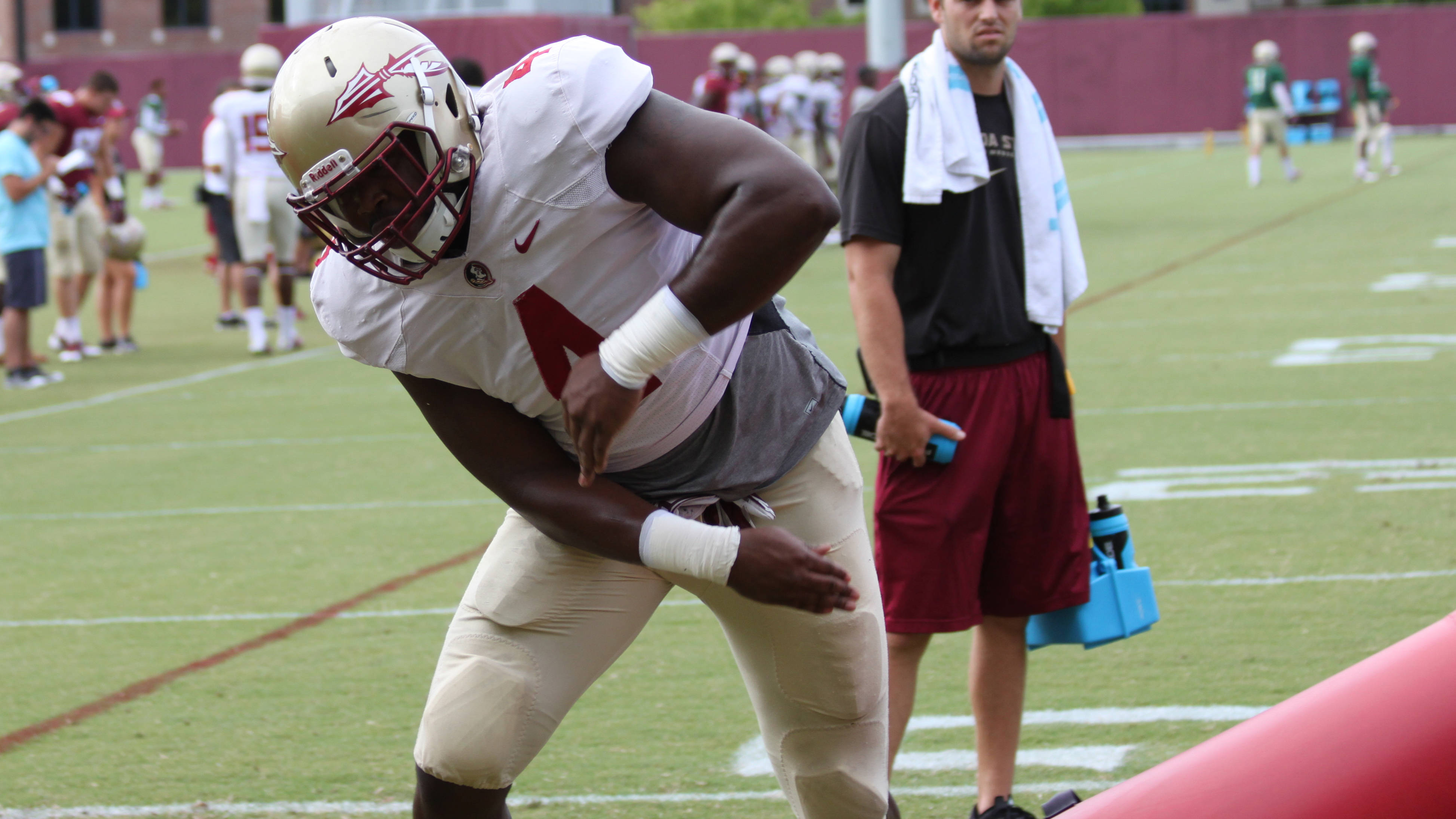 Florida State Football Practice – August 17, 2015