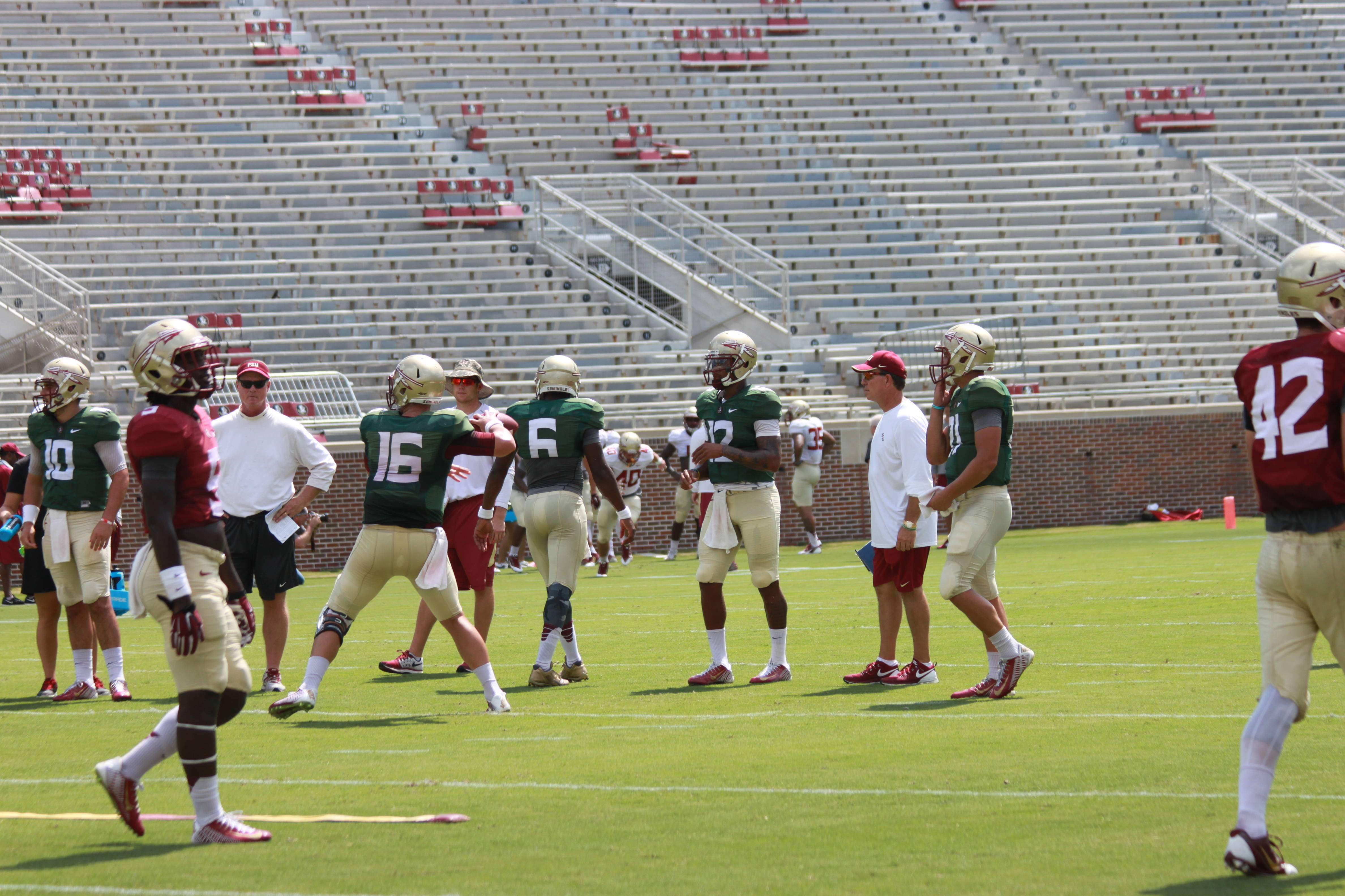 Florida State Football – Fall Scrimmage August 22, 2015