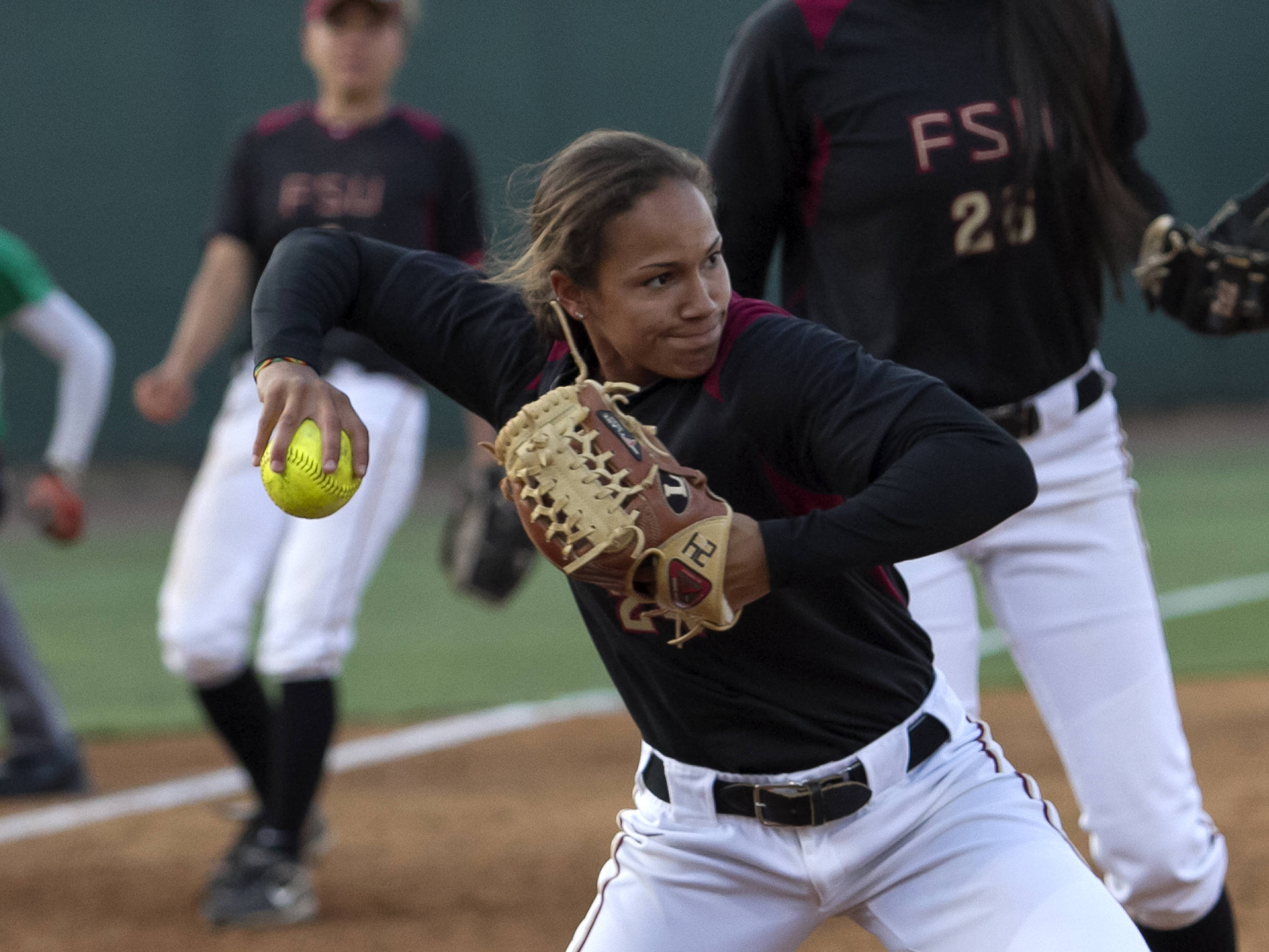 Briana Hamilton, FSU Softball vs FAMU  04/10/2012