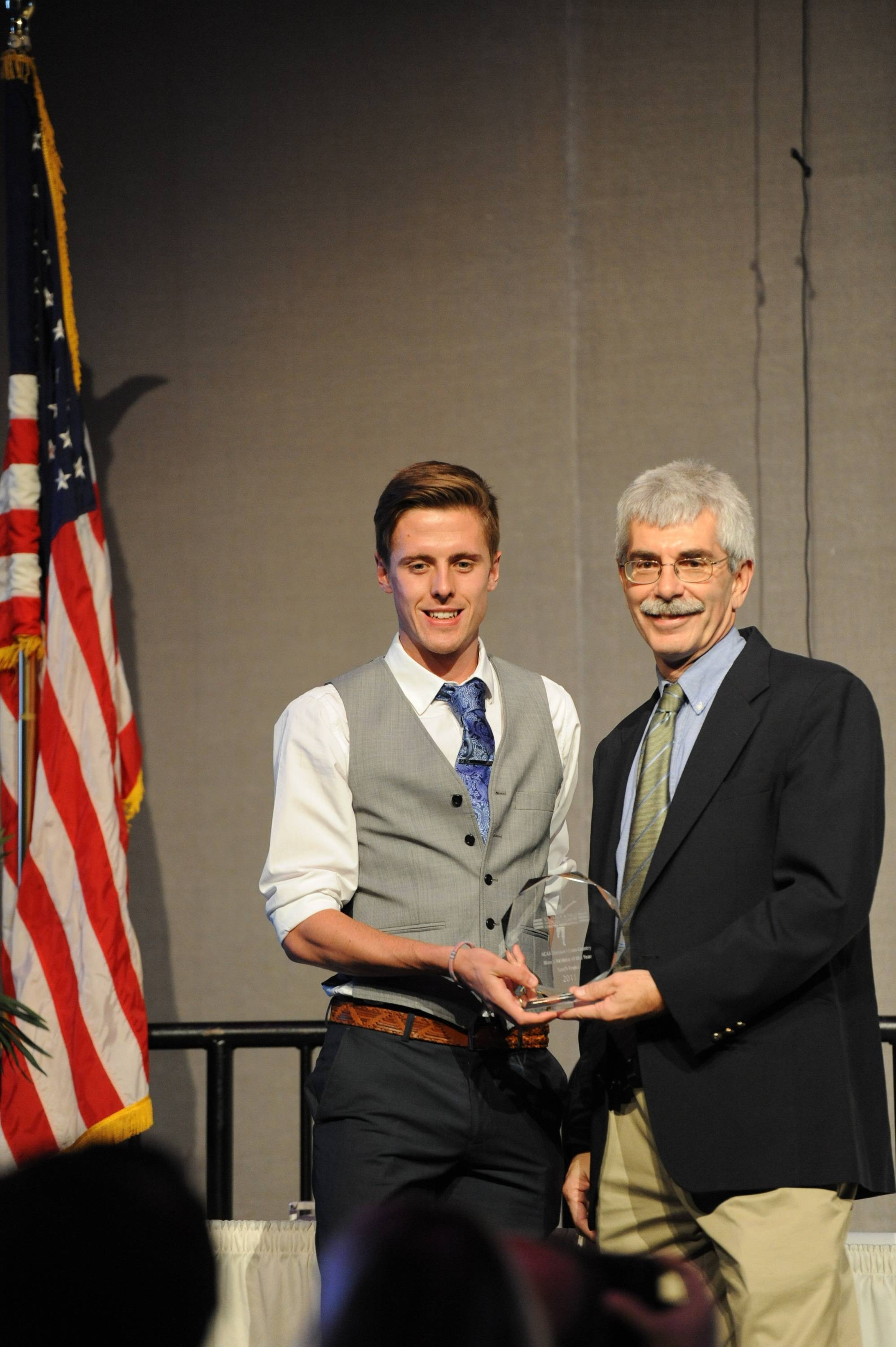 FSU's David Forrester was recognized as the NCAA South Region Athlete of the Year.