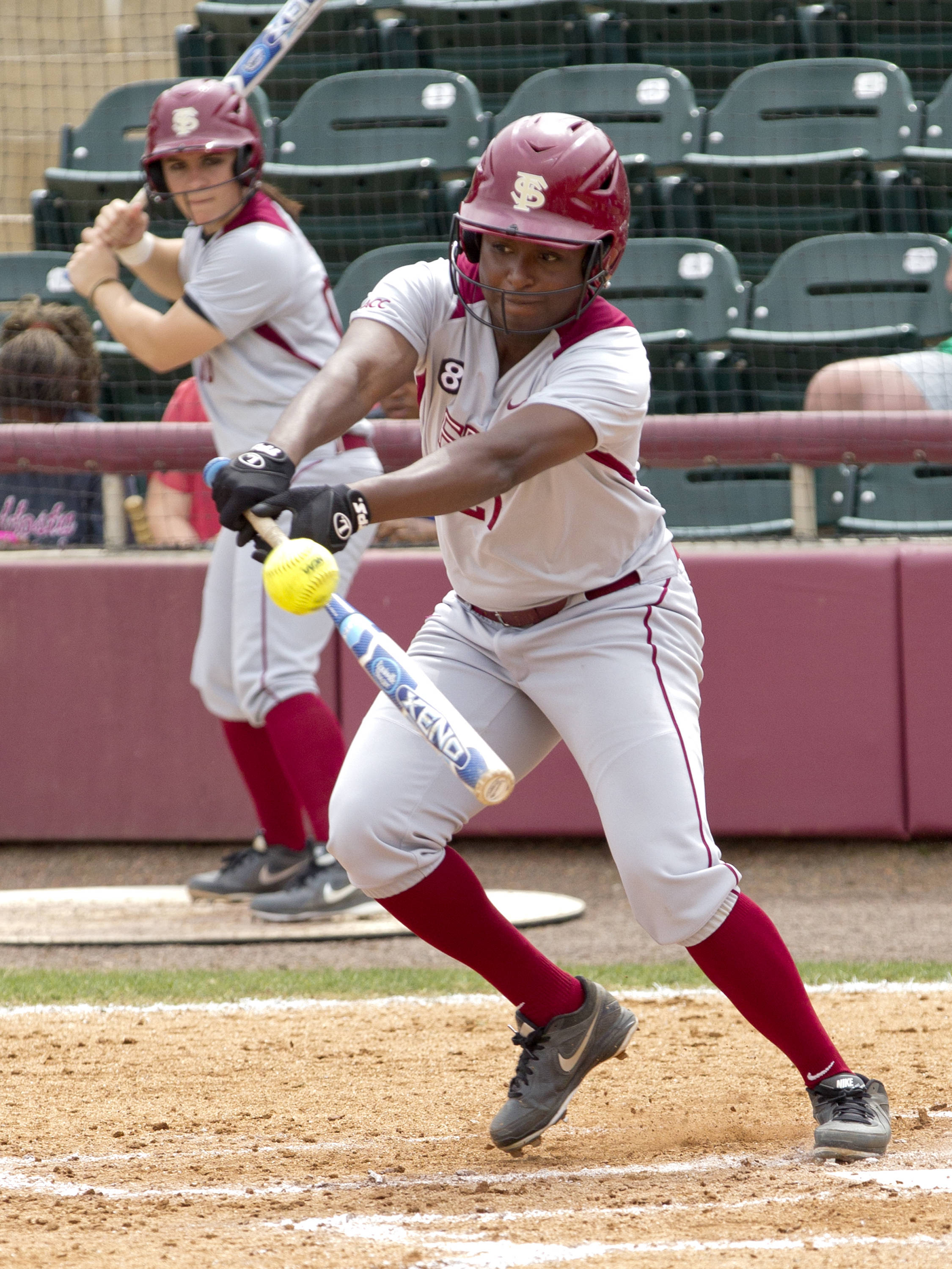 Morgan Bullock (21), FSU vs Minnesota, 03/17/13. (Photo by Steve Musco)