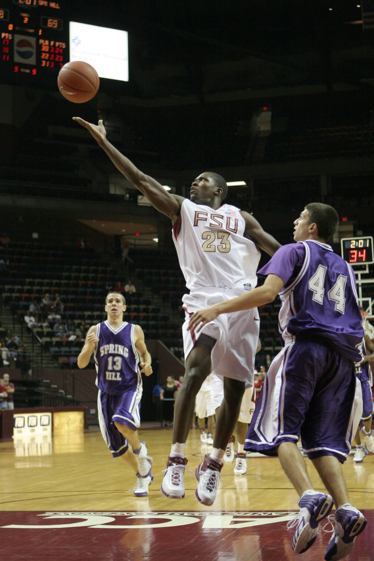 November 14, 2006: Toney Douglas and the Seminoles play host to SMU on Tuesday night in#$%^the final round of the Colonial Classic in Tallahassee.