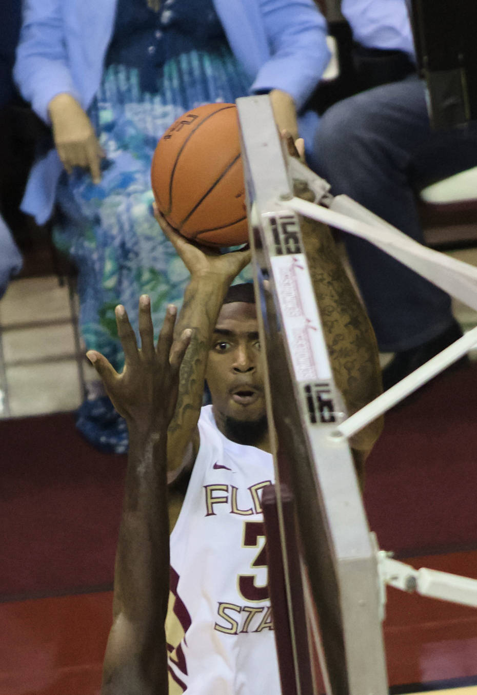 Terry Whisnant (31), FSU vs No. Fla, 11/21/12. (Photo by Steve Musco)