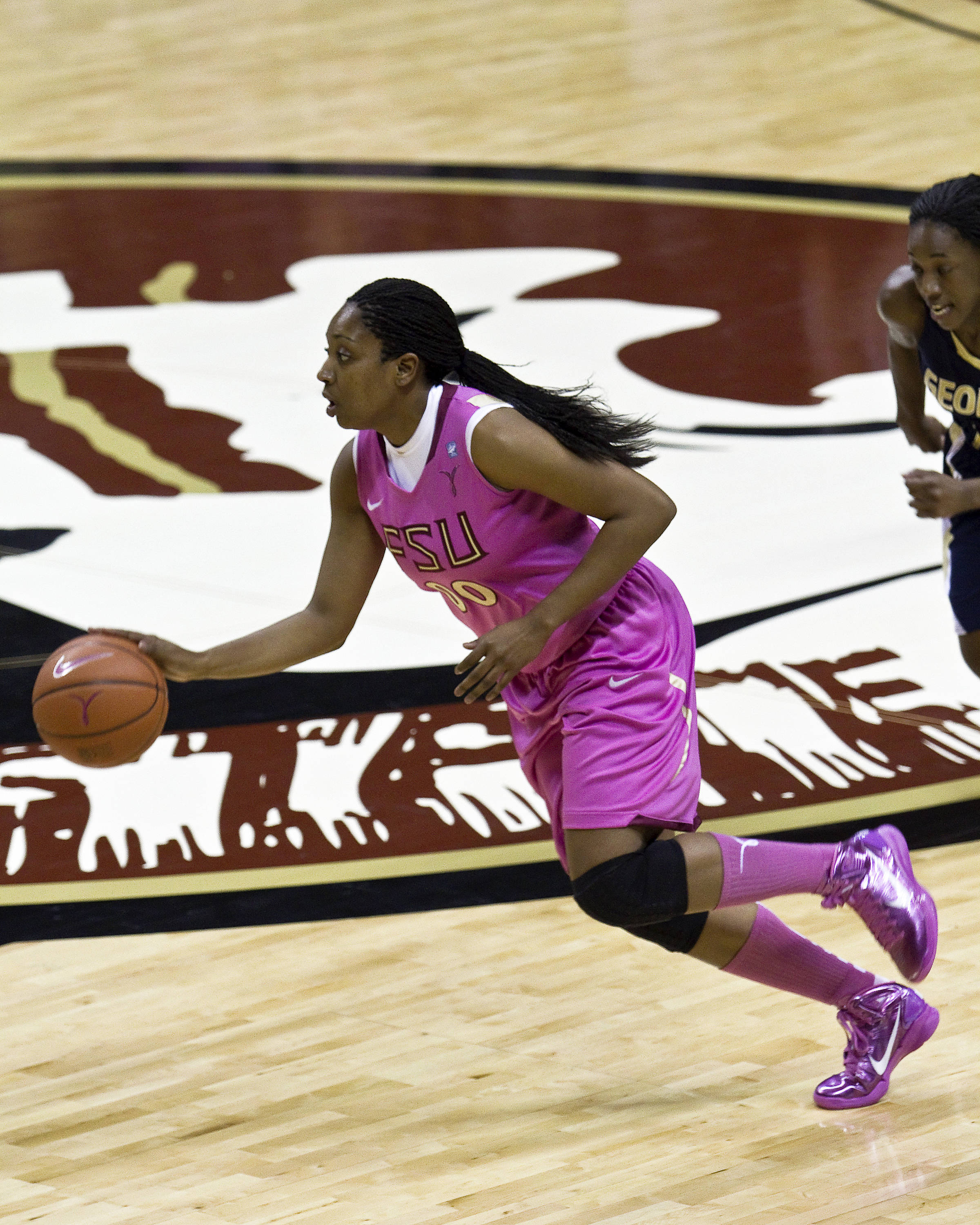 FSU vs Georgia Tech- 02//11/11 - Chasity Clayton (00)