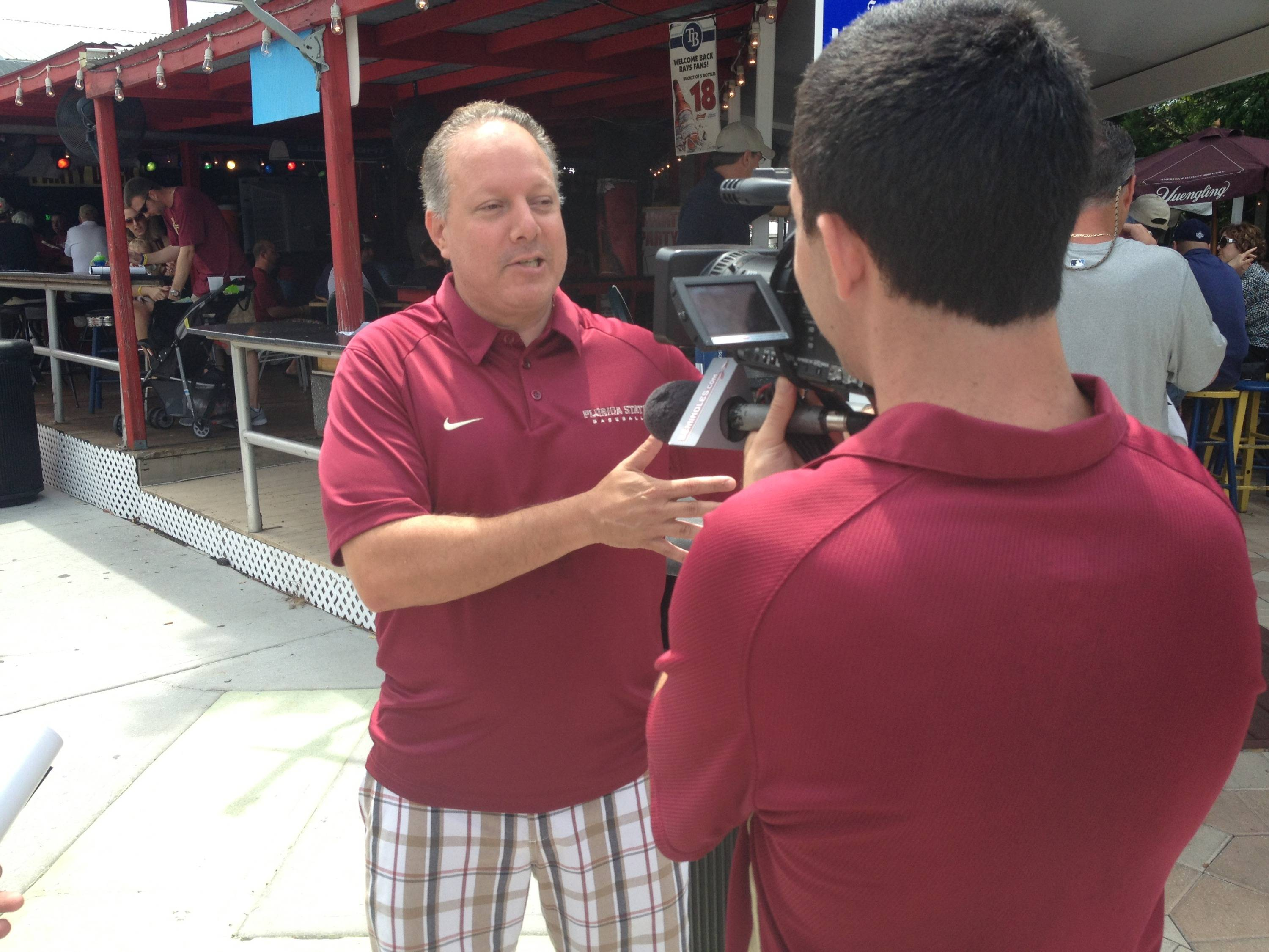 FSU Baseball radio play-by-play announcer speaks with Seminoles.com