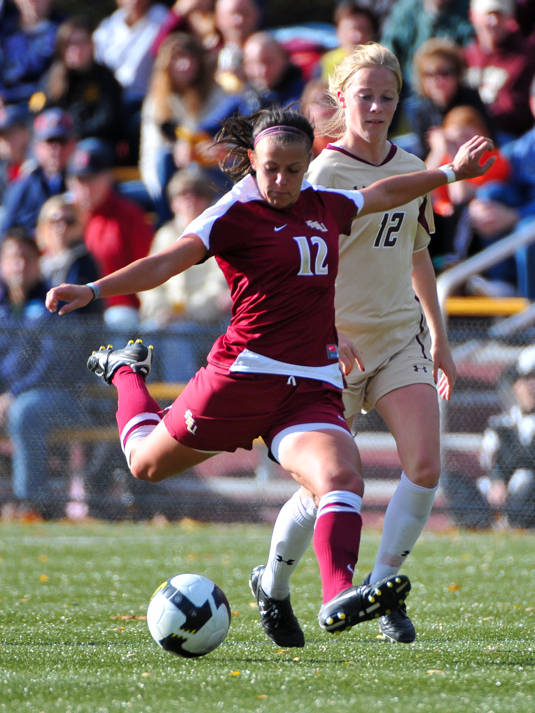 Breezy Hupp vs. Boston College, Oct. 31, 2010