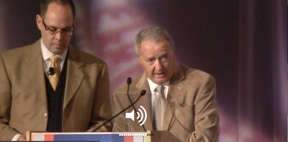 FCA Breakfast with Coach Bobby Bowden and Ernie Johnson of TBS.