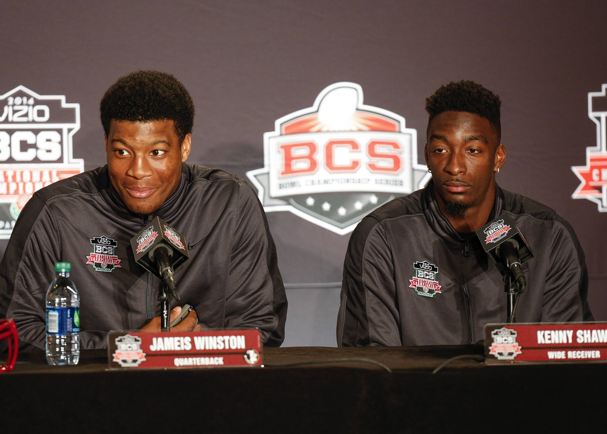 Jameis Winston and Kenny Shaw