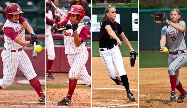 Tiffani Brown (6), Briana Hamilton (24), Monica Perry (55), Lacey Waldrop (13)