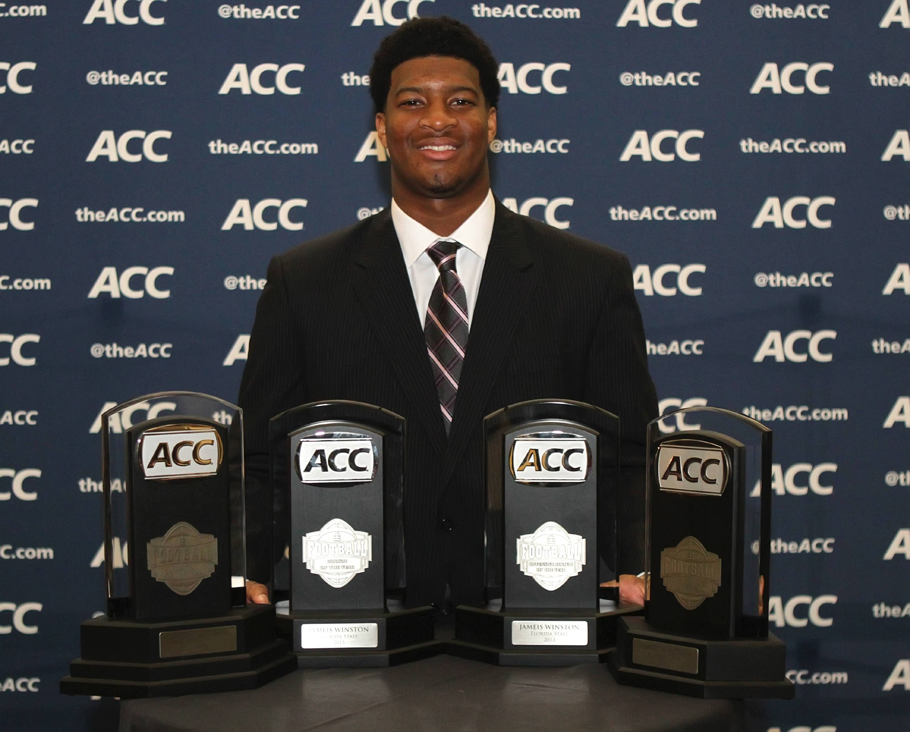 Jameis Winston at the ACC Night of Legends