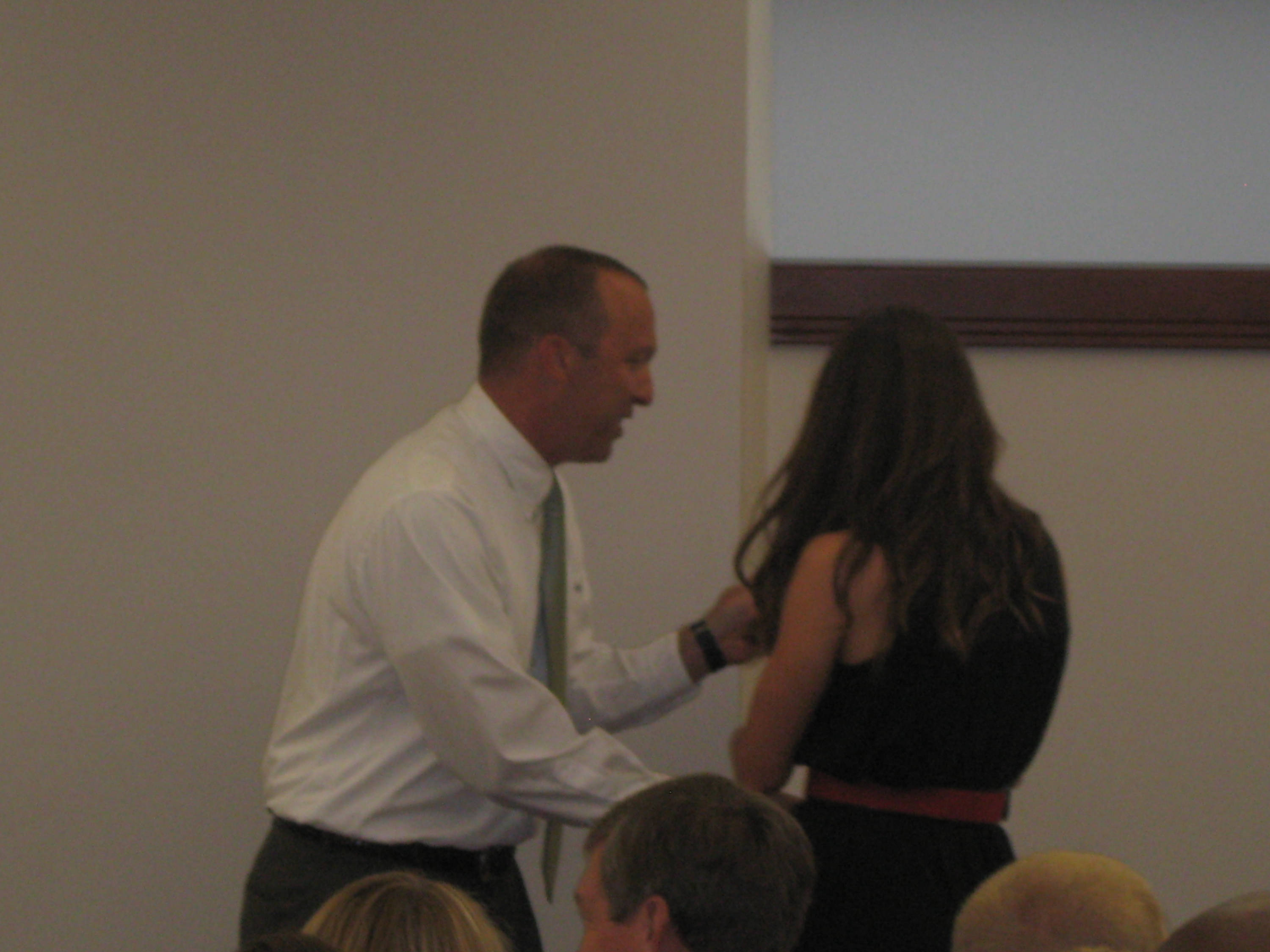 2011 Swimming and Diving Banquet: Neil Harper, Melissa Terry