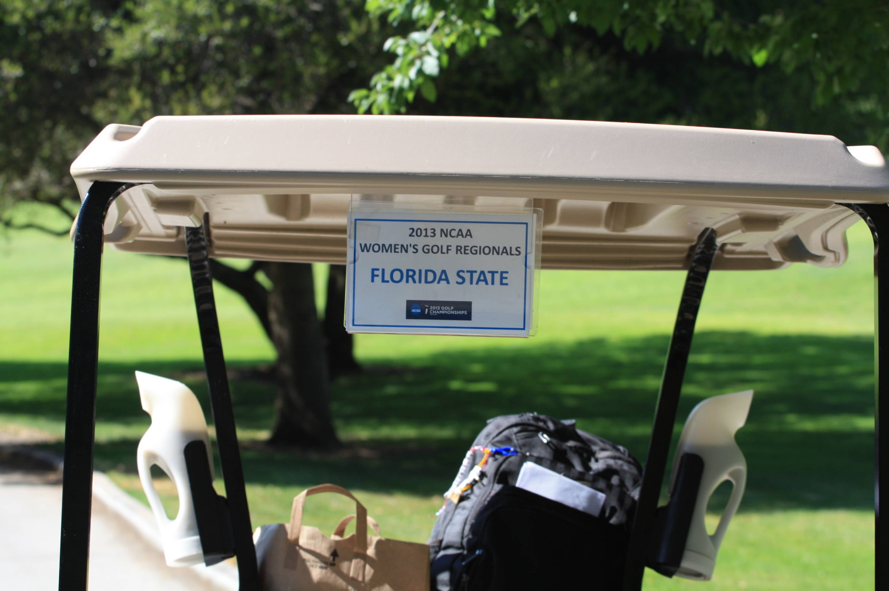 Florida State Golf Cart -- 2013 NCAA West Regional