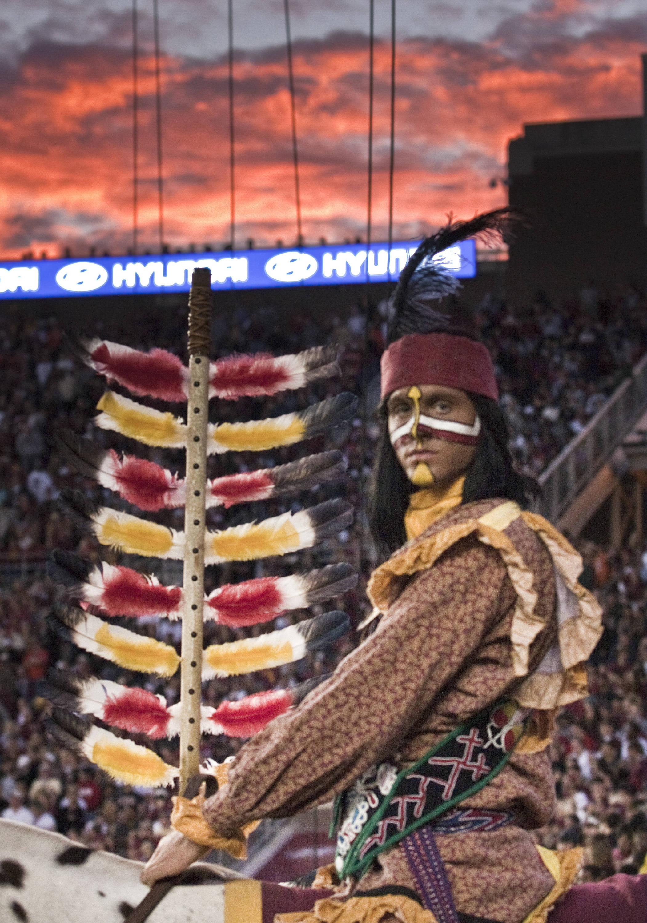 Chief Osceola, FSU vs Miami, 11/12/2011