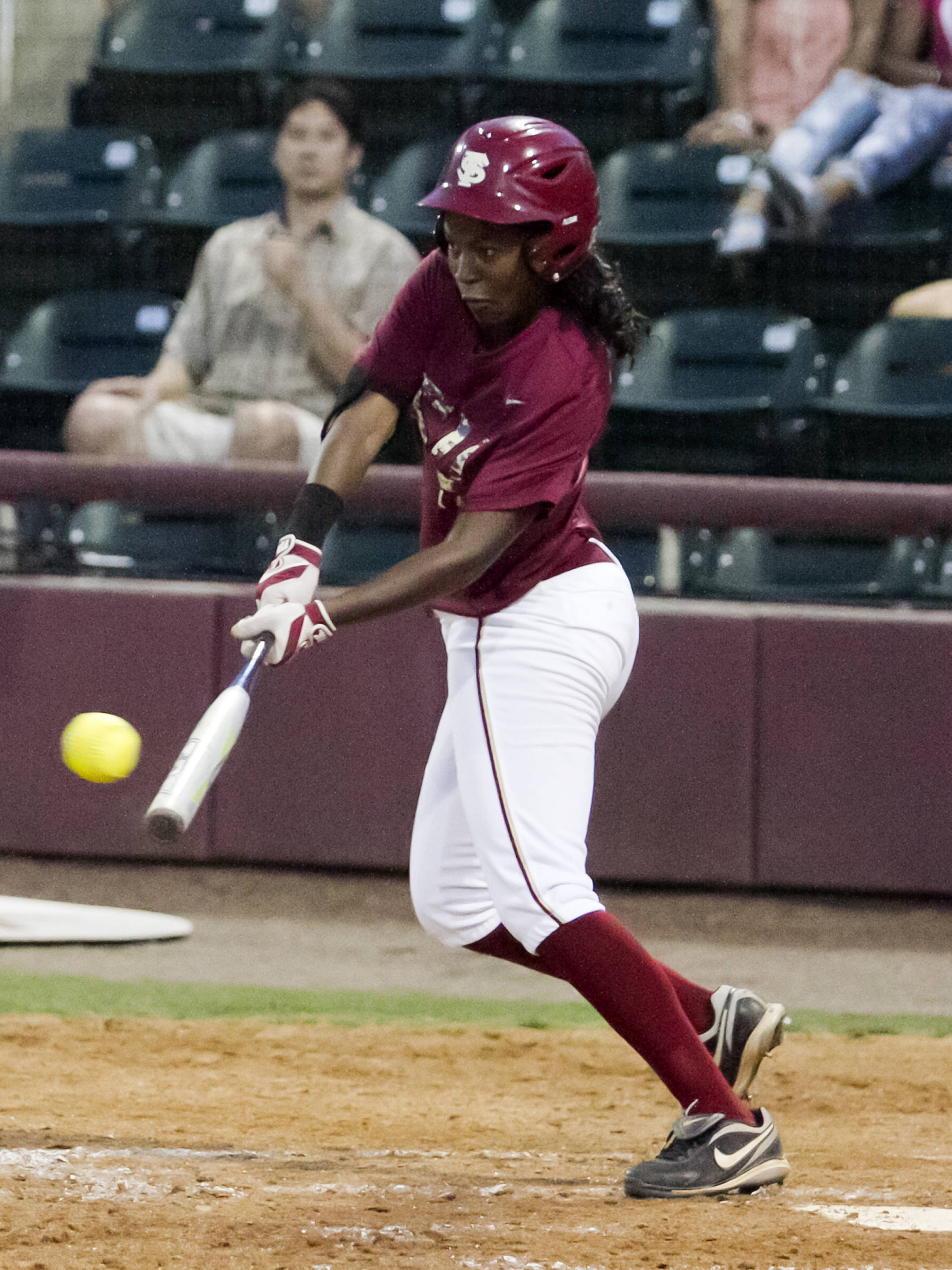 Shayla Jackson, FSU Softball vs NC,  04/02/2012