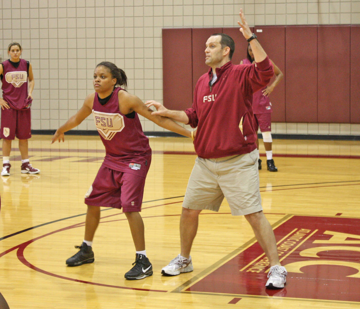 coach white and courtney ward